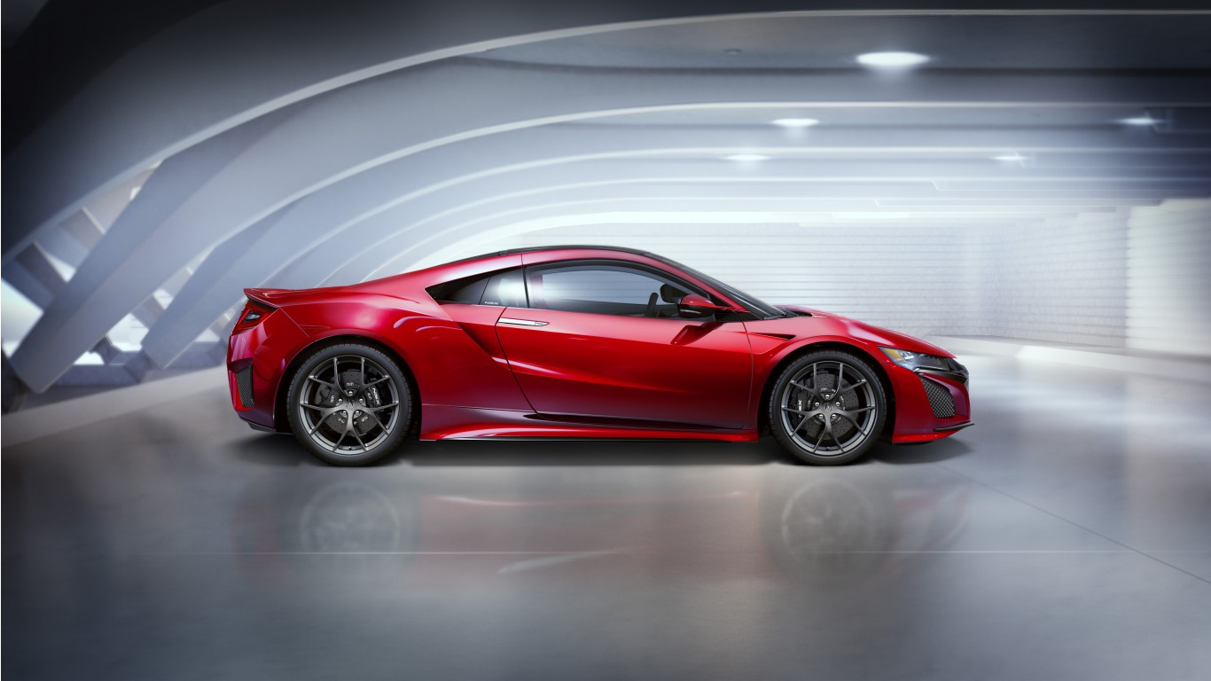 Acura NSX 2016 4K 5K Wallpaper
