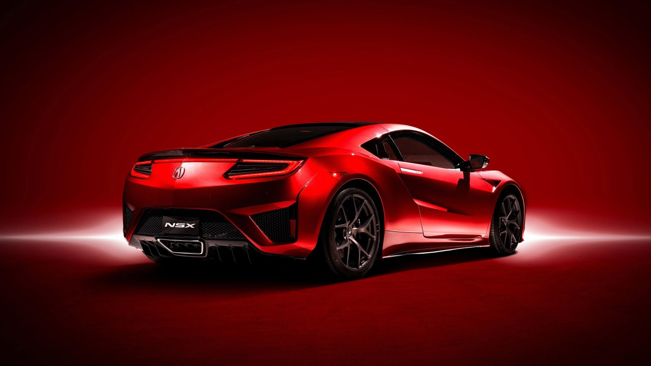 Car Wallpapers Backgrounds Hd: Acura NSX 2017 2 Wallpaper
