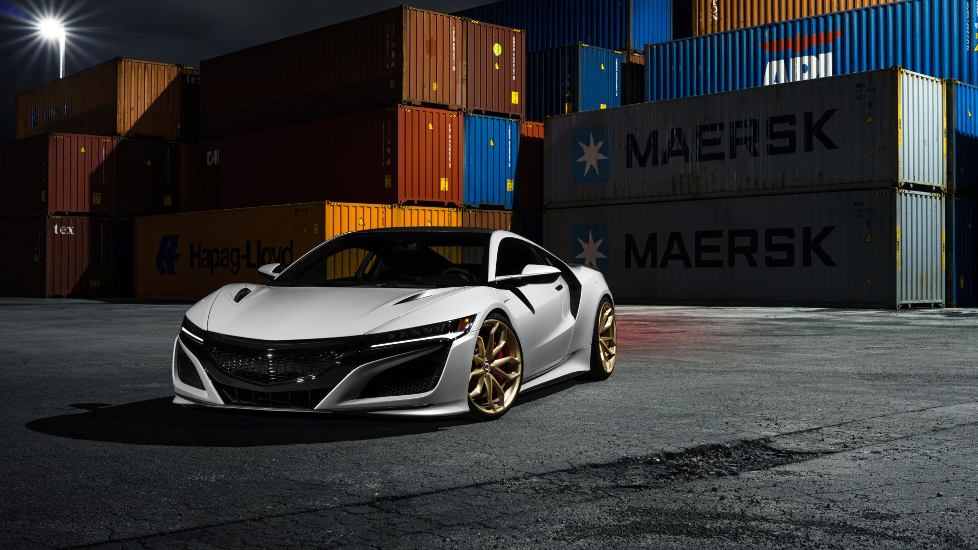 Acura NSX HRE Wheels 2017 5K Wallpaper | HD Car Wallpapers | ID #7246