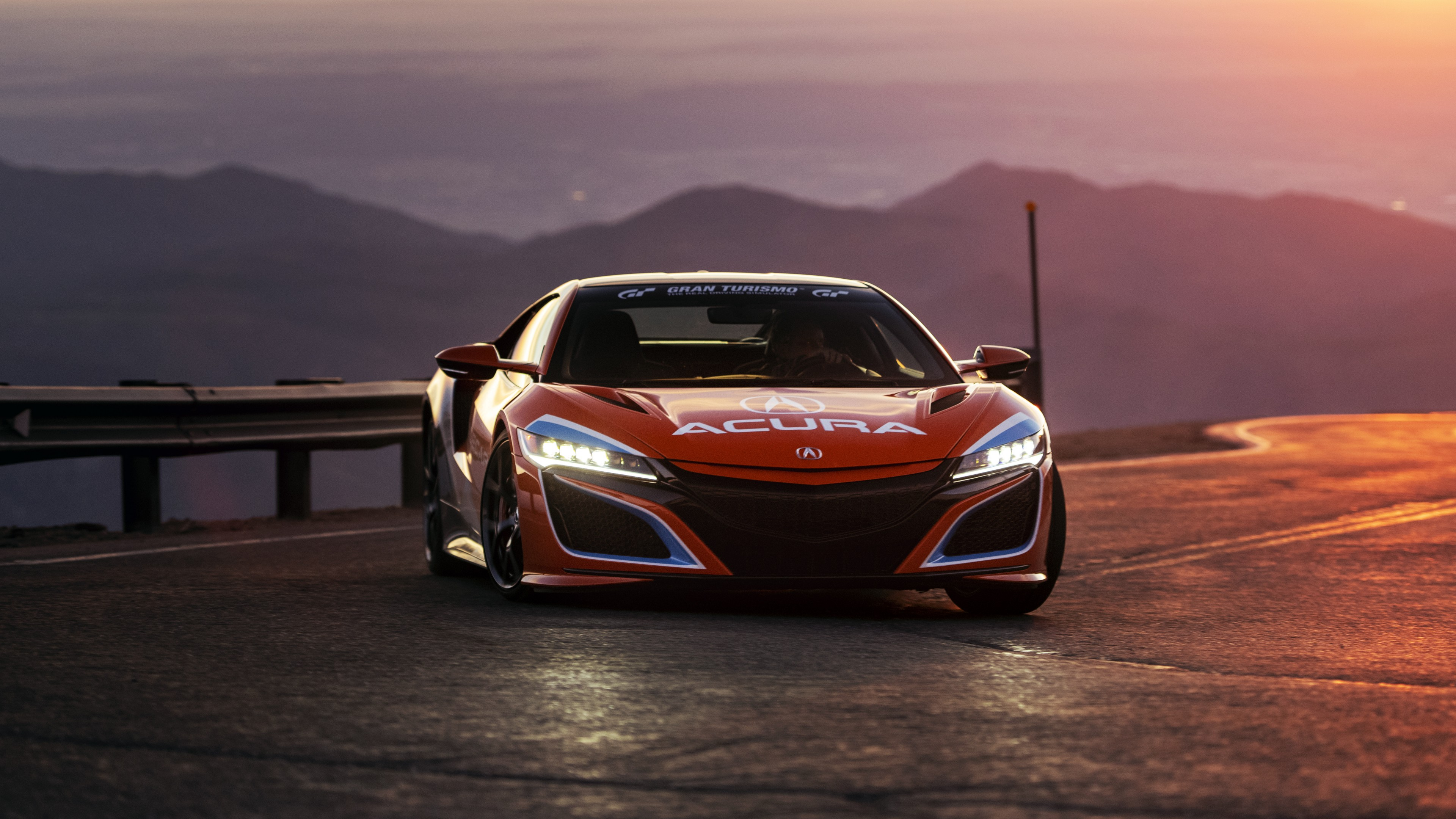 acura nsx pikes peak pace car 2019 4k wallpaper