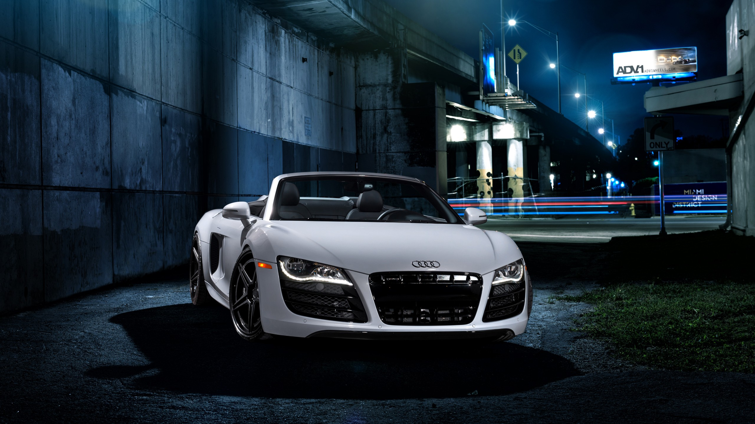 Adv1 Audi R8 V10 Wallpaper Hd Car Wallpapers Id 5508