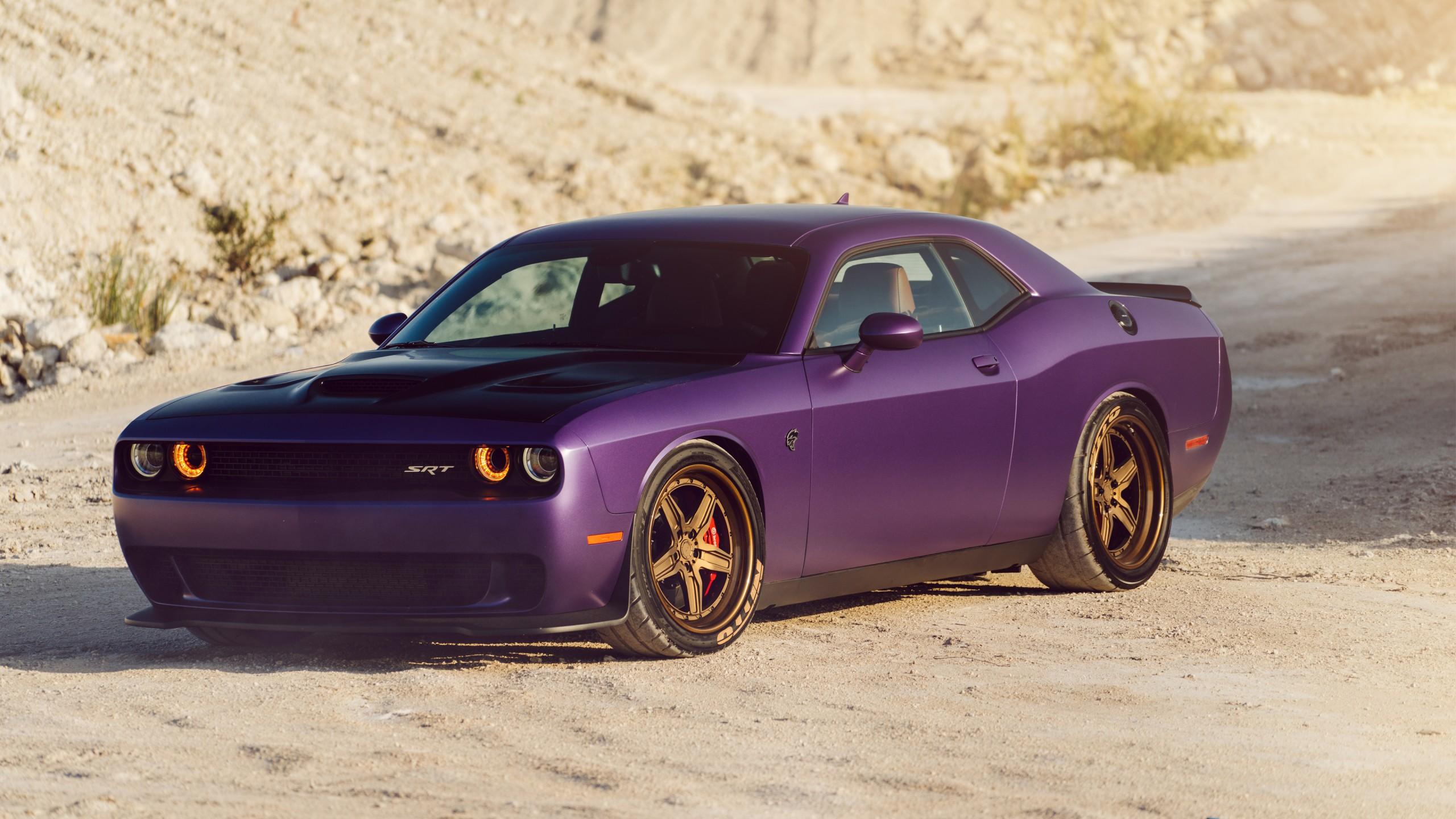 Challenger Srt Hellcat >> ADV1 Dodge Plum Hellcat 4K Wallpaper | HD Car Wallpapers ...