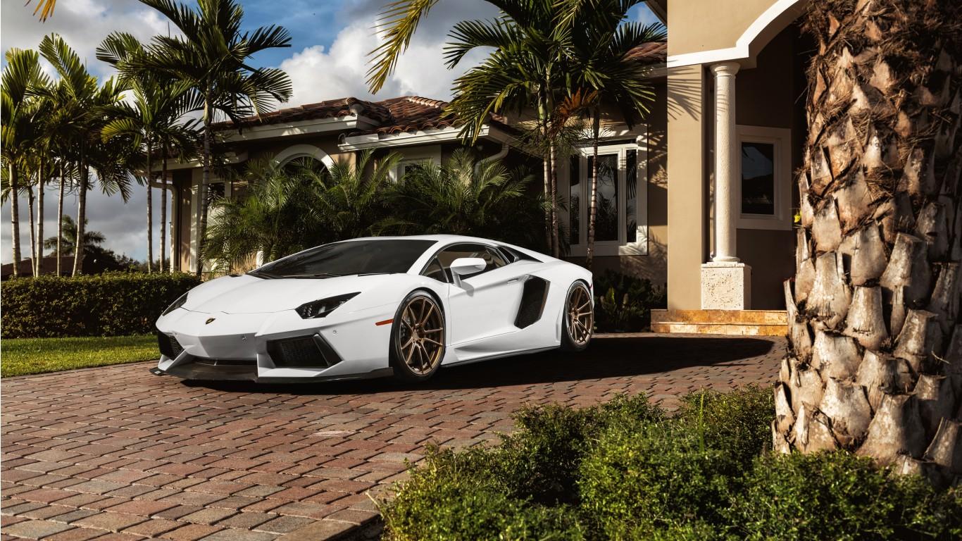 ADV1 Lamborghini Aventador Wallpaper HD Car Wallpapers