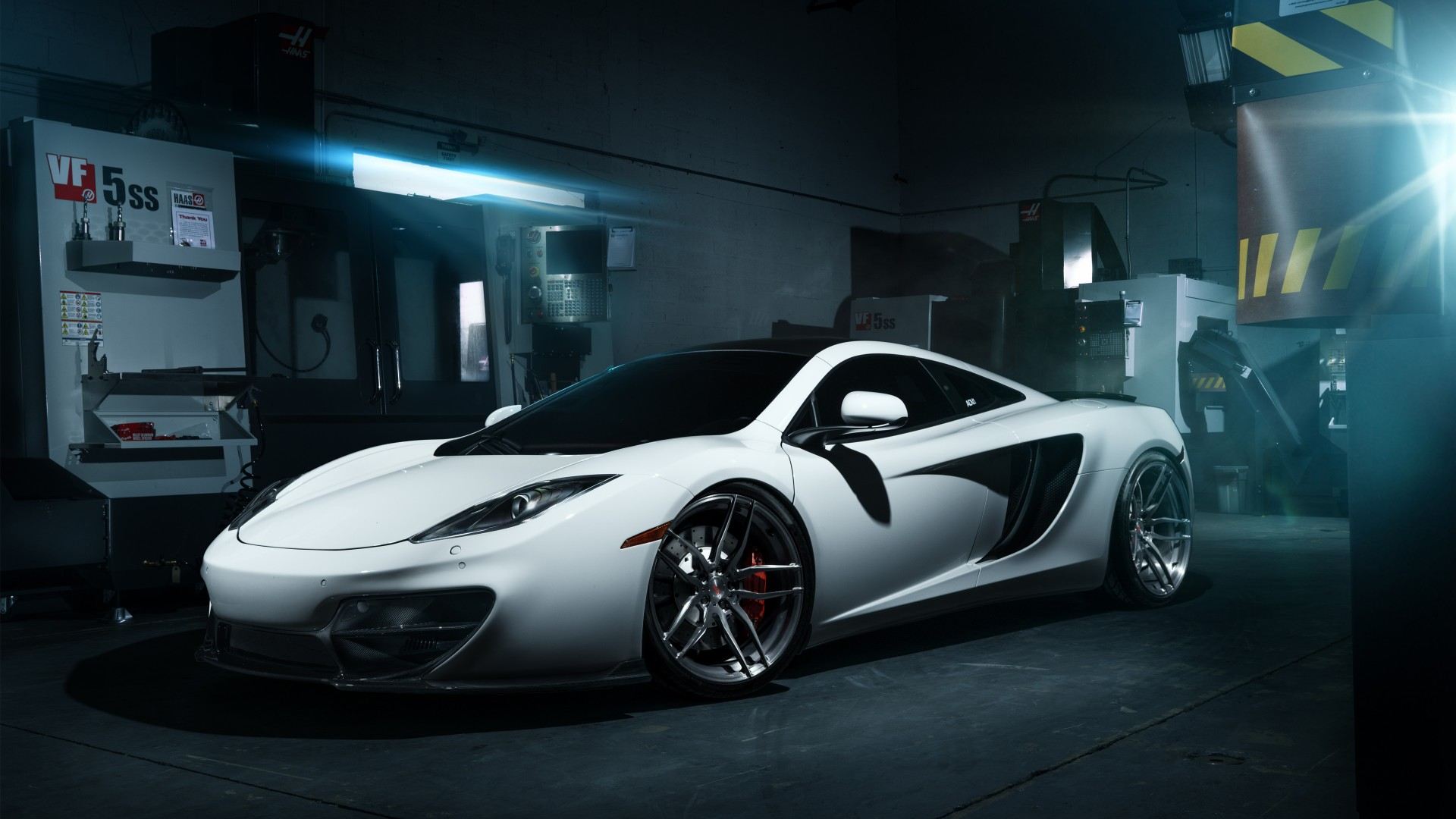ADV1 McLaren Factory Wallpaper | HD Car Wallpapers | ID #6403