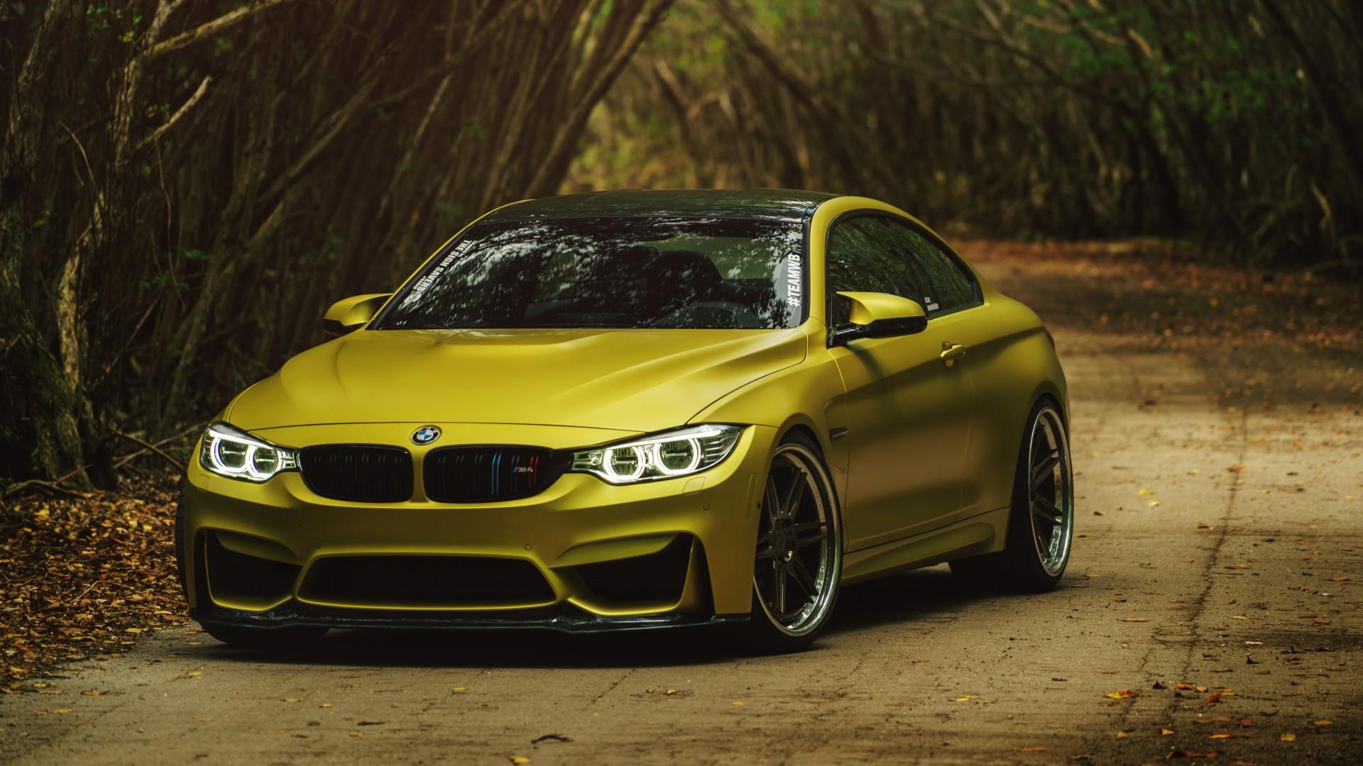 ADV1 SS Austin Yellow BMW M4 Wallpaper | HD Car Wallpapers ...