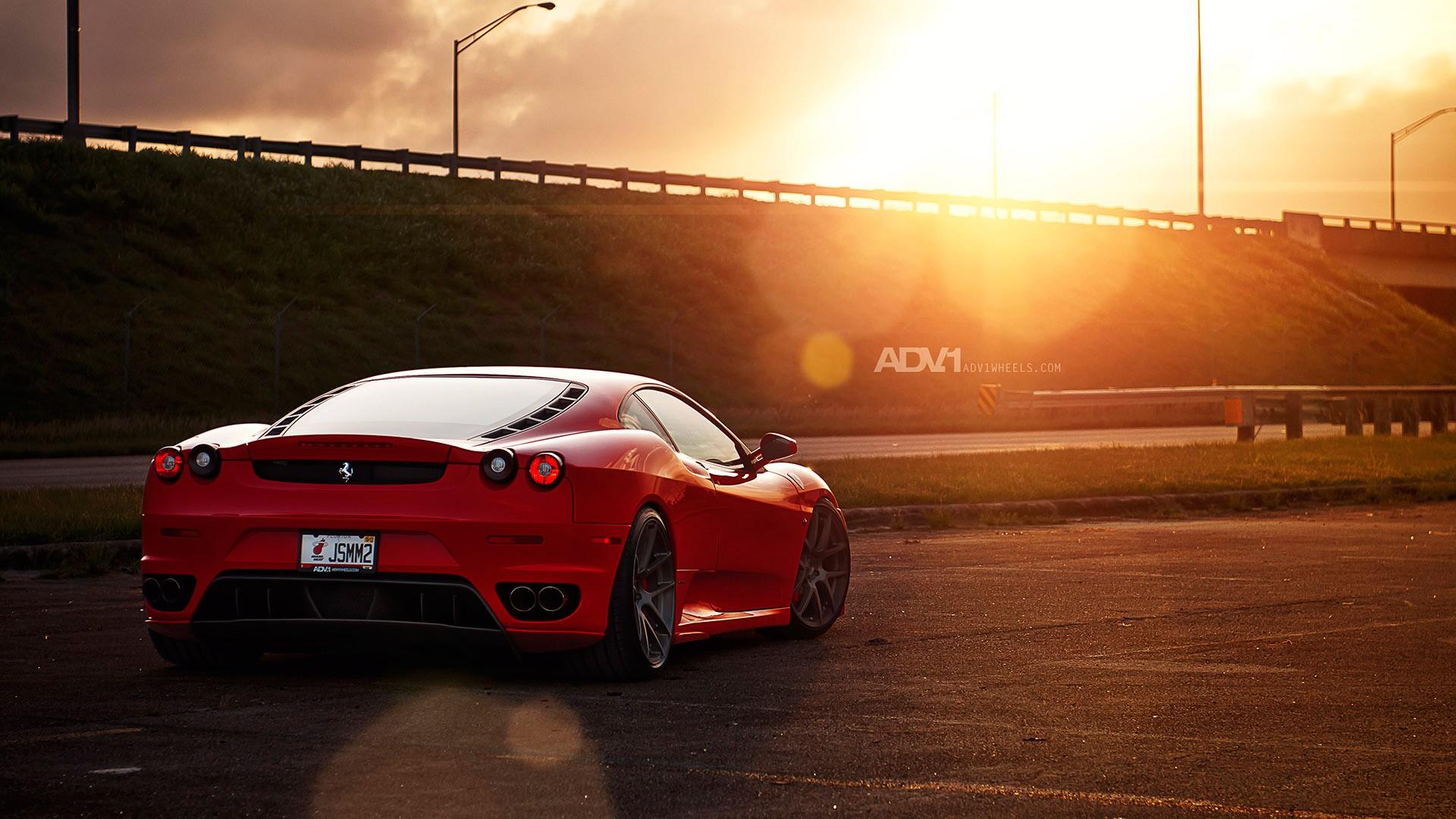Car Wallpapers Backgrounds Hd: ADV1 Wheels Ferrari F430 Wallpaper