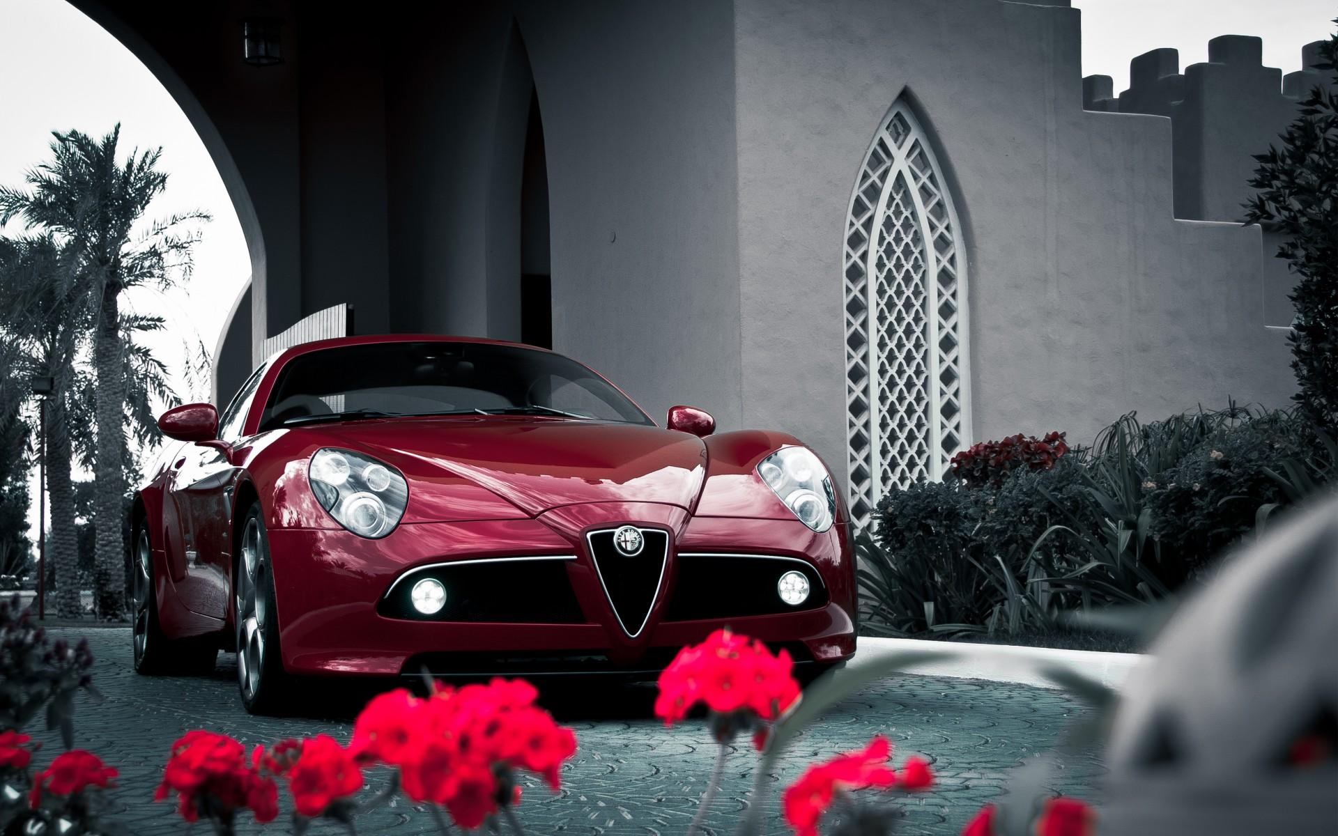 Alfa Romeo Disco Volante >> Alfa Romeo 8C Competizione Sports Car Wallpaper   HD Car Wallpapers   ID #3012