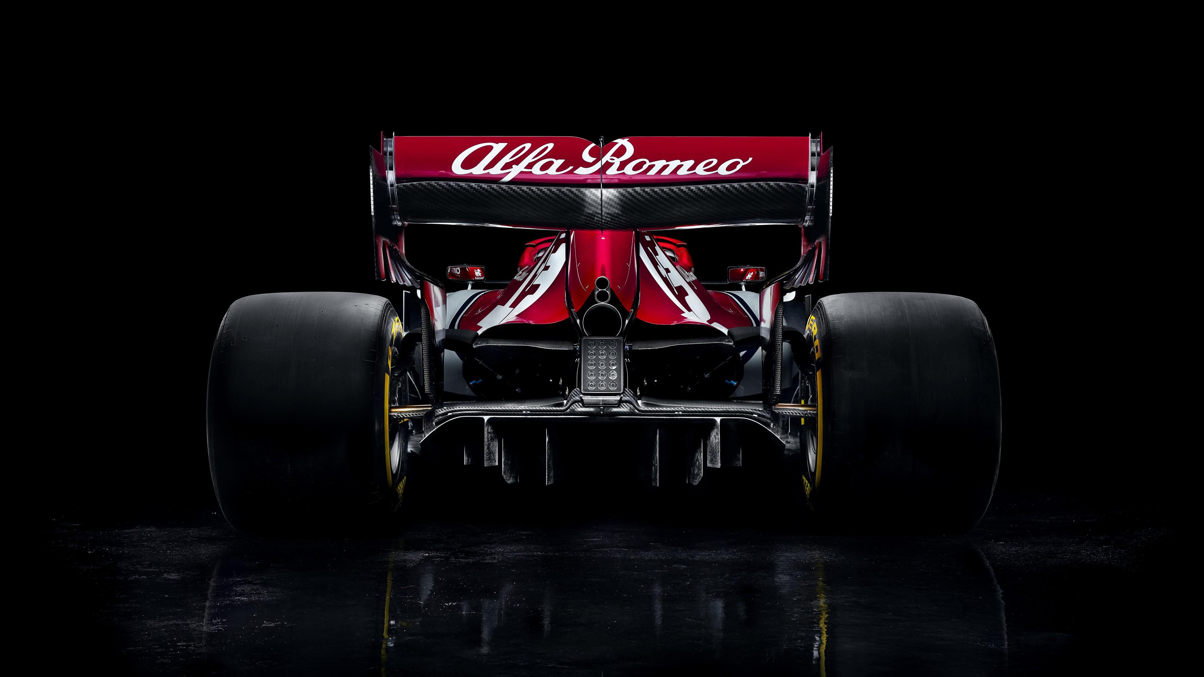 Alfa Romeo C38 Formula 1 2019 4K 8K Wallpaper