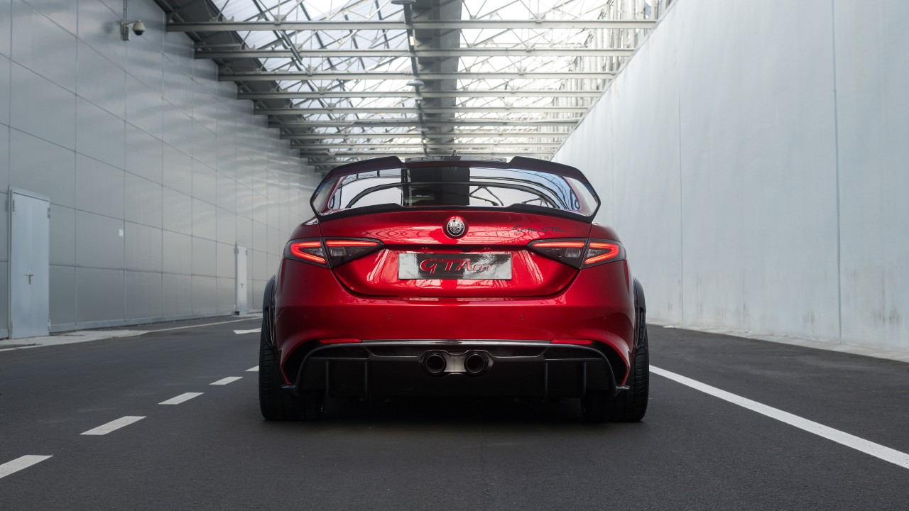 Alfa Romeo Giulia Gtam 2020 5k 4 Wallpaper Hd Car Wallpapers Id 14490
