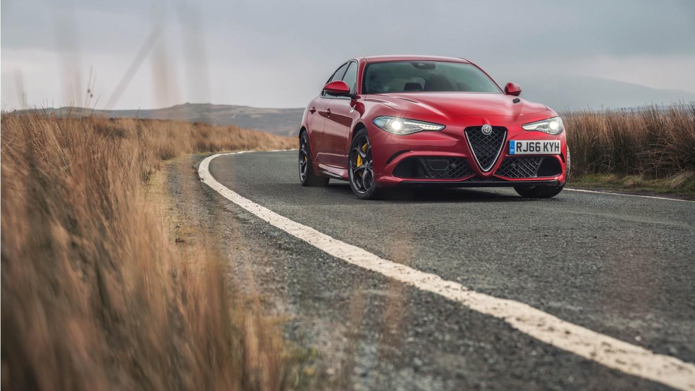 Alfa Romeo Tuning Fondo Escritorio Alfa Romeo Tuning: Alfa Romeo Giulia Quadrifoglio 2017 Wallpaper