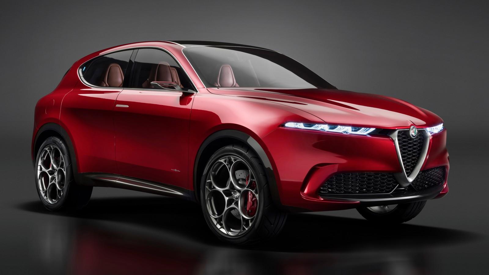 Alfa Romeo 4C >> Alfa Romeo Tonale Concept 2019 4K 2 Wallpaper | HD Car ...