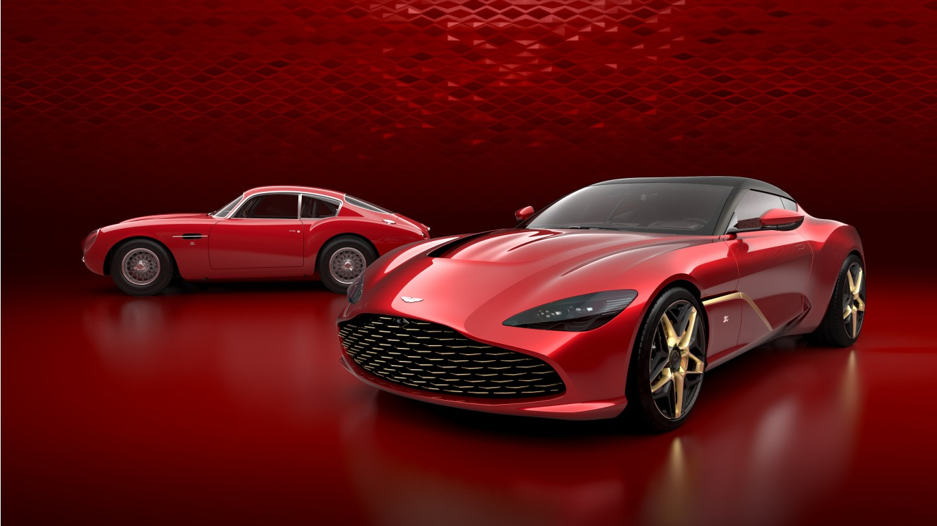 Aston Martin Dbs Gt Zagato 2019 4k Wallpaper Hd Car