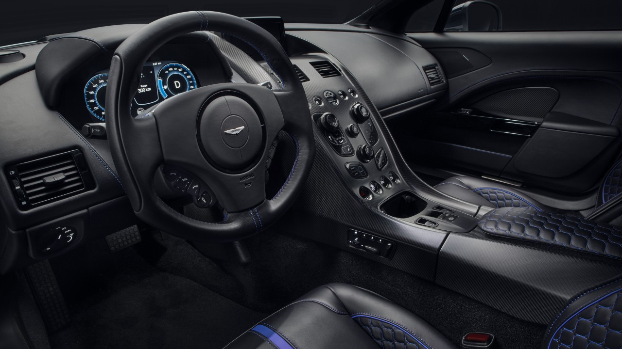 Aston Martin Rapide E 2019 5K Interior Wallpaper | HD Car ...
