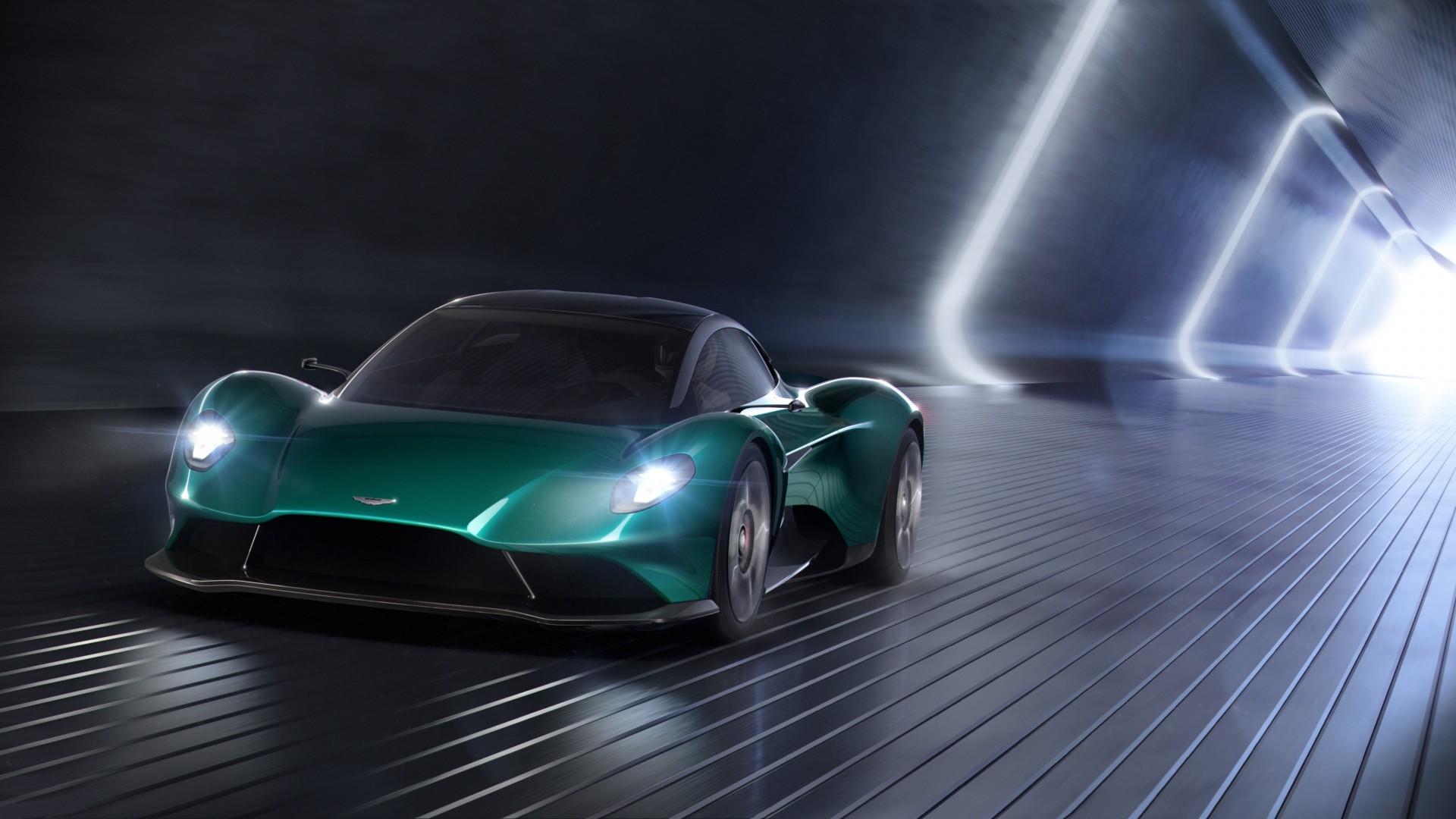 Aston Martin Vanquish Vision Concept 2019 4k Wallpaper
