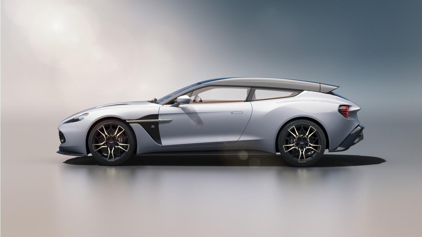 Aston Martin Vanquish Zagato Shooting Brake 2019 4k