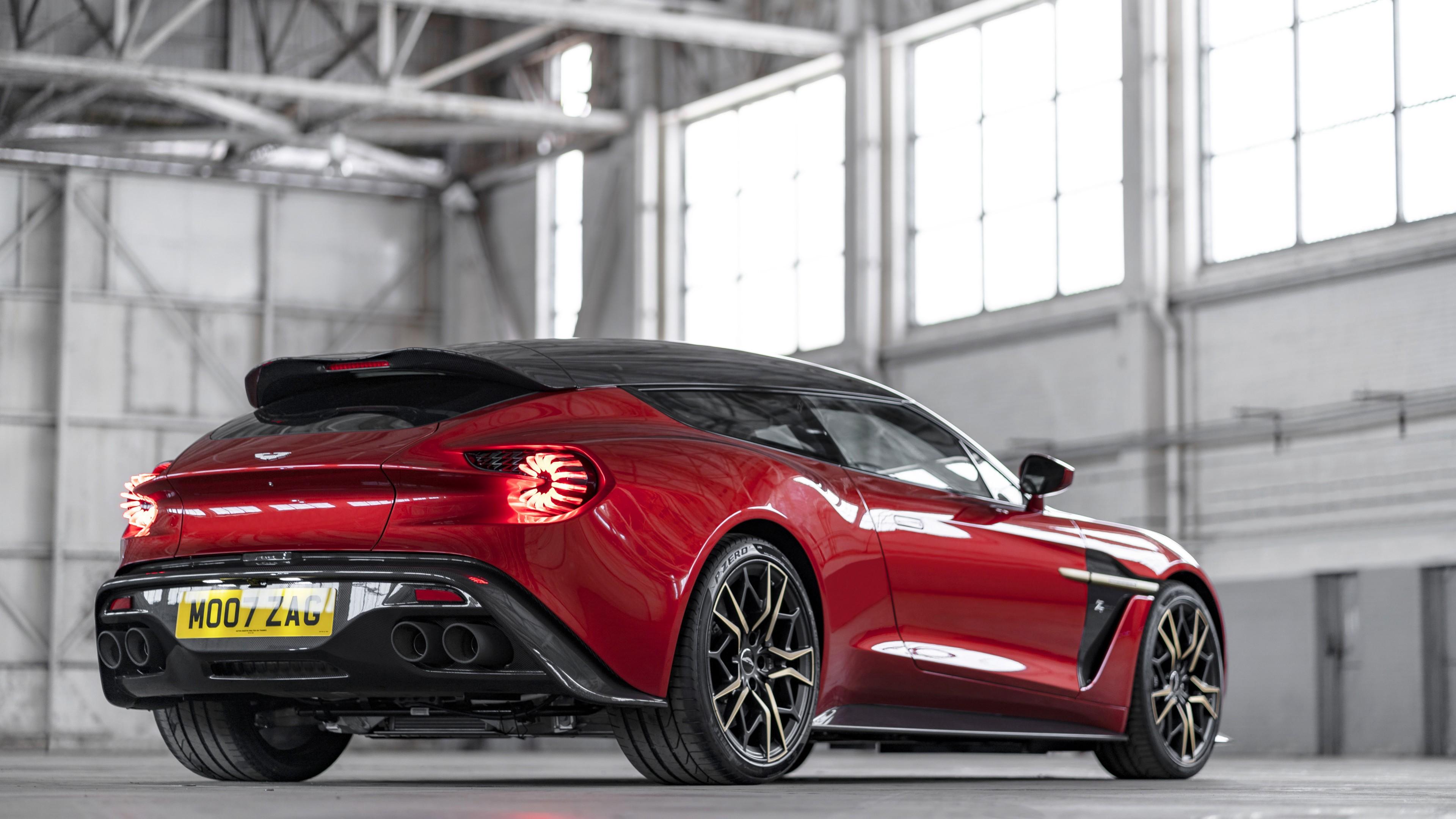 Aston Martin Vanquish Zagato Shooting Brake 2019 4K ...