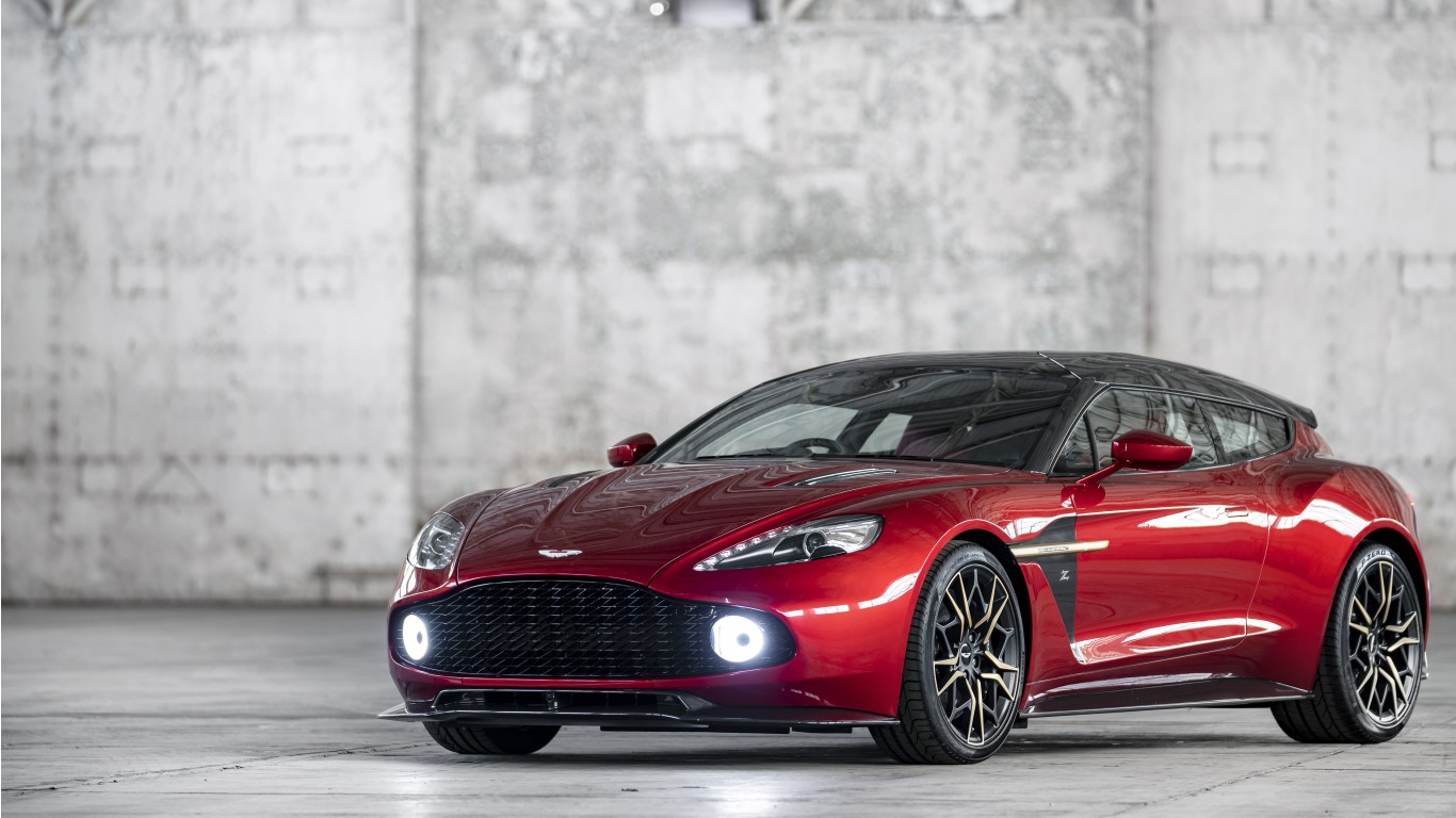 Aston Martin Vanquish Zagato Shooting Brake K X