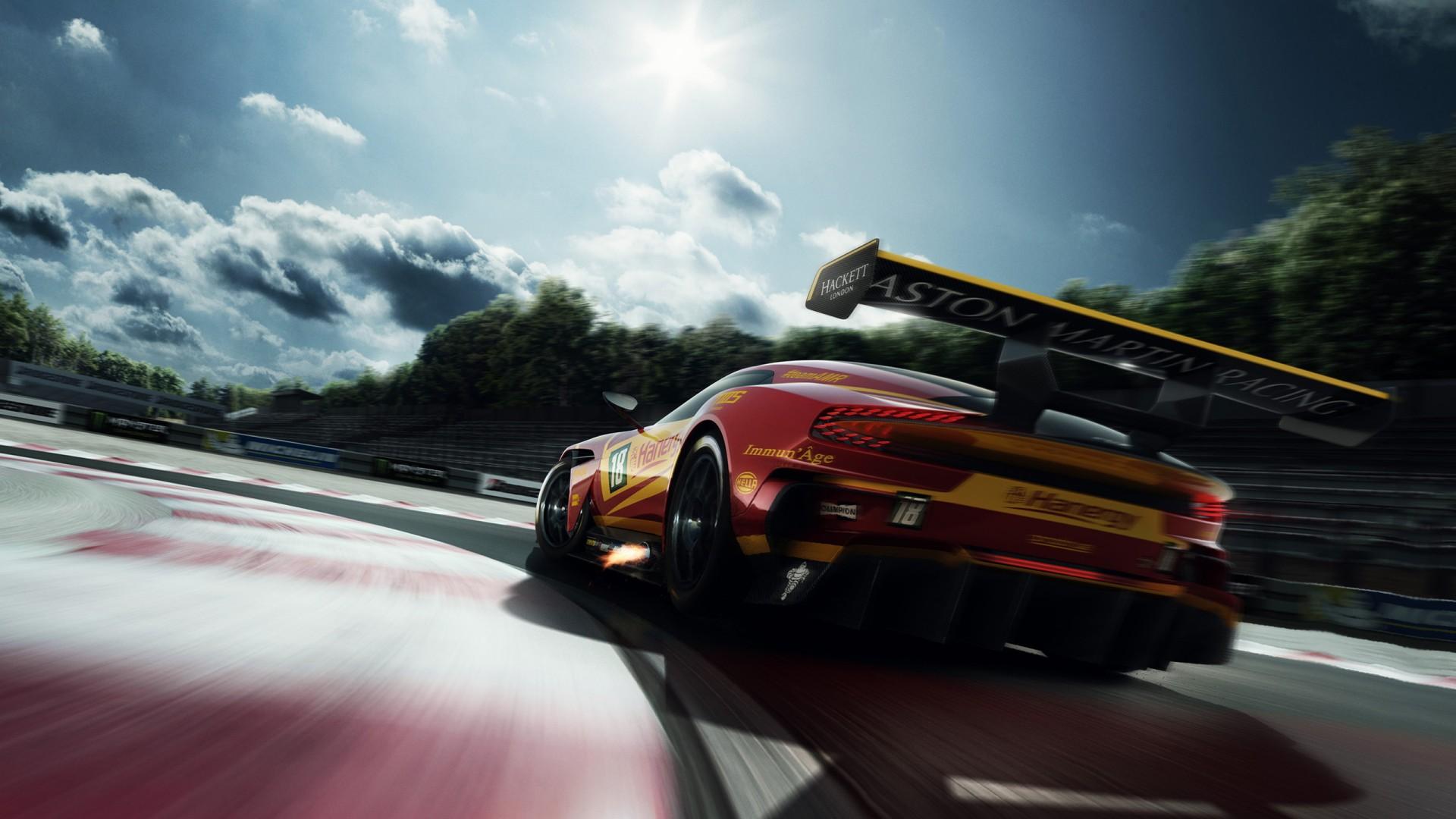 Aston Martin Vulcan Racing Hd Wallpaper Hd Car