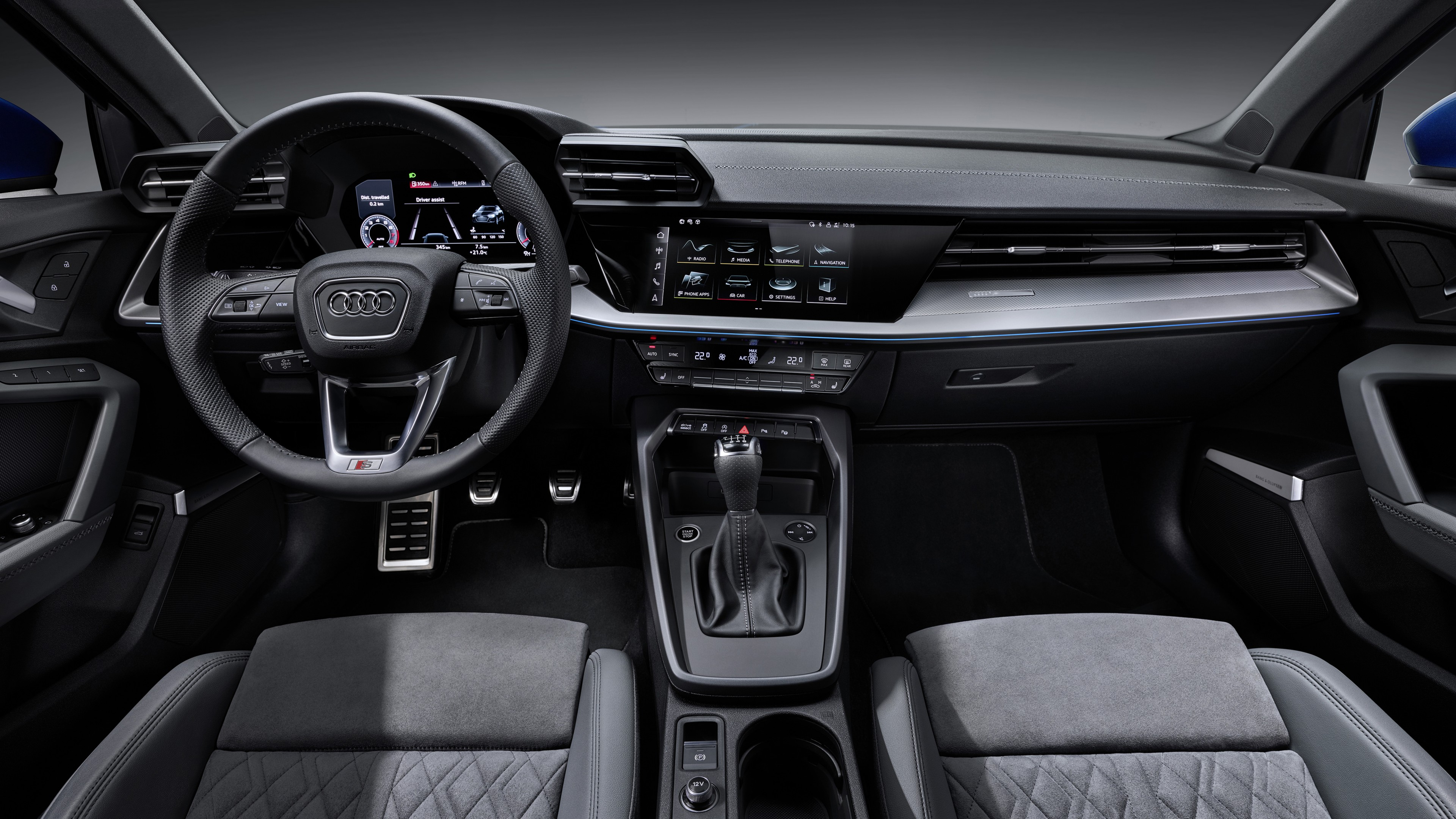 Audi A3 Sportback 35 Tfsi 2020 4k Interior Wallpaper Hd Car Wallpapers Id 14463