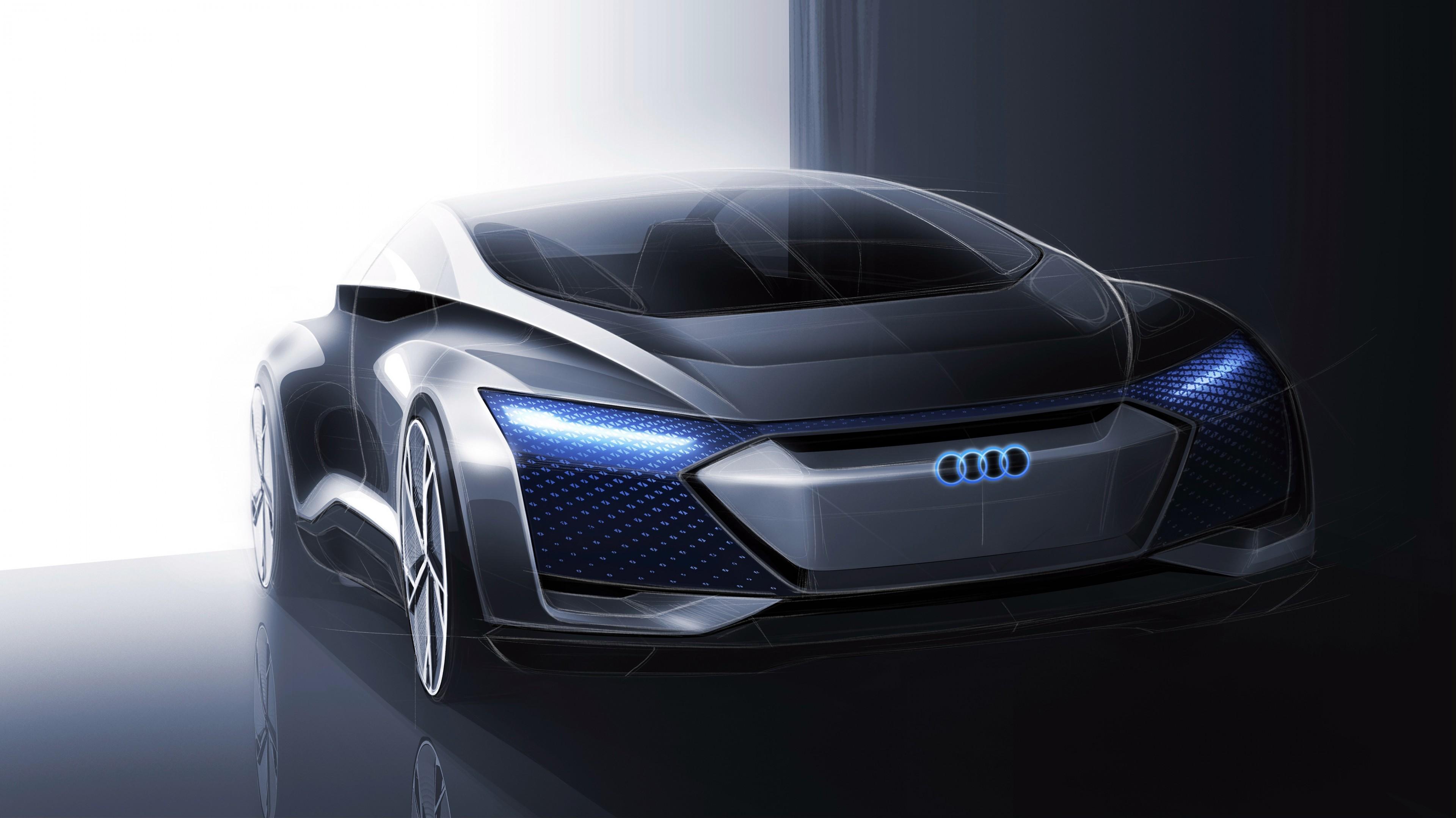 Audi Aicon Concept Car 4K Wallpaper   HD Car Wallpapers ...