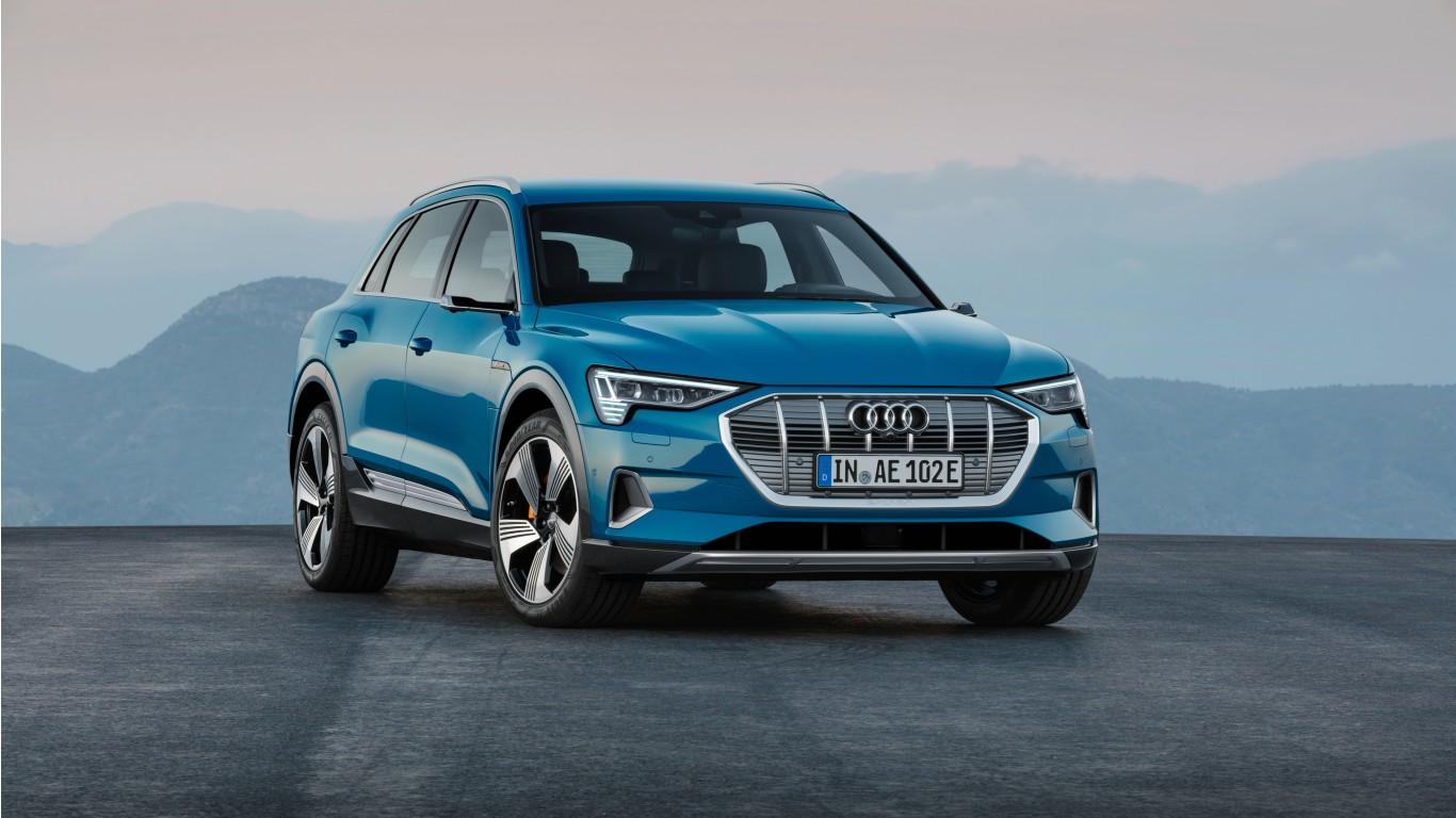 Audi e-tron 2019 4K Wallpaper   HD Car Wallpapers   ID #11217