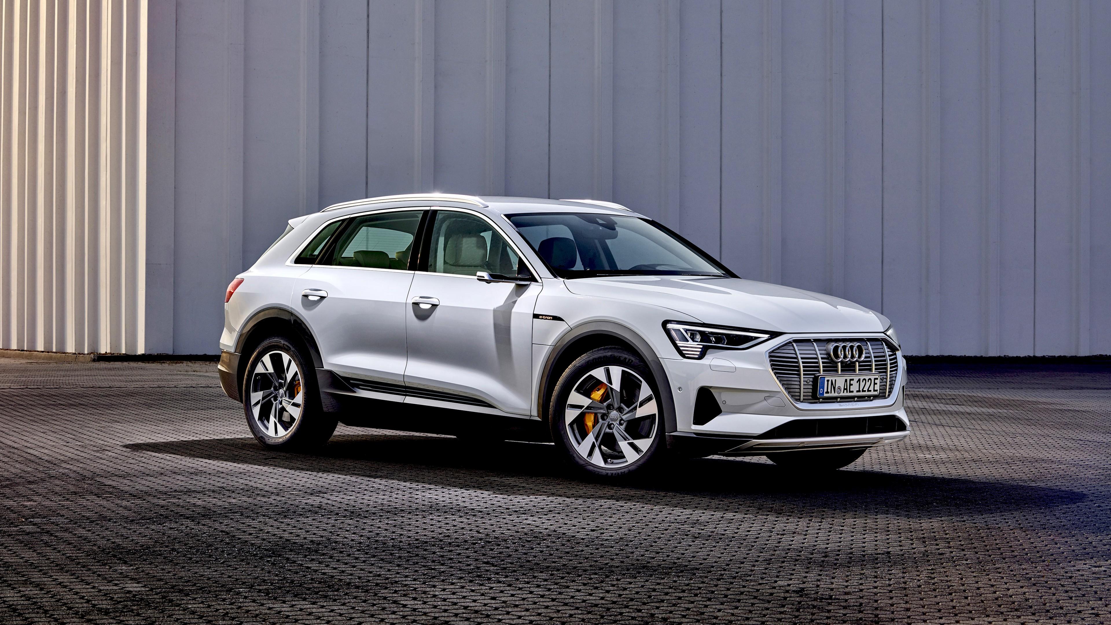 Audi E Tron 50 Quattro 2019 4k 3 Wallpaper Hd Car Wallpapers Id 12948