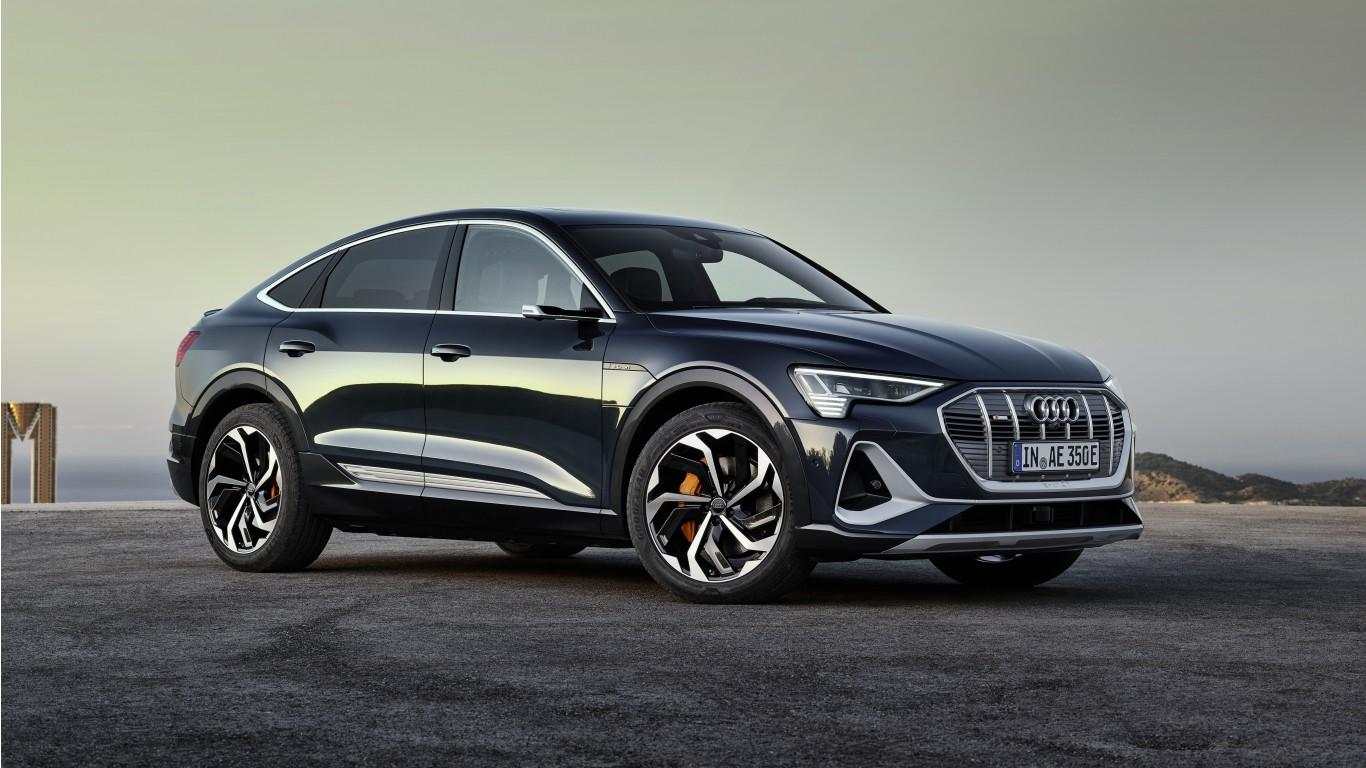 Audi e-tron 55 quattro Sporback S line Edition One 2020 4K ...