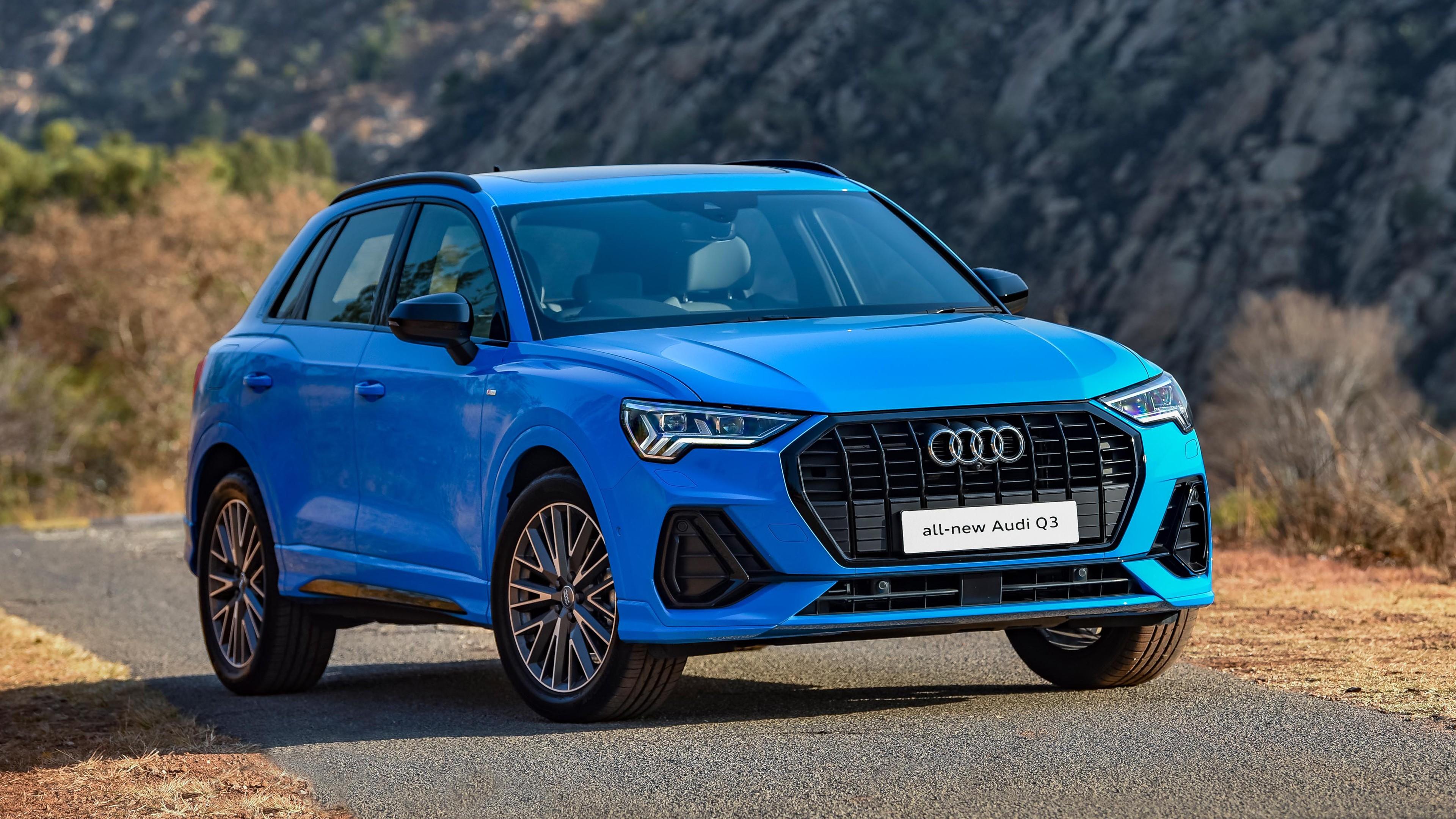 Audi Q3 35 Tfsi S Line 2019 4k Wallpaper Hd Car Wallpapers Id 13124