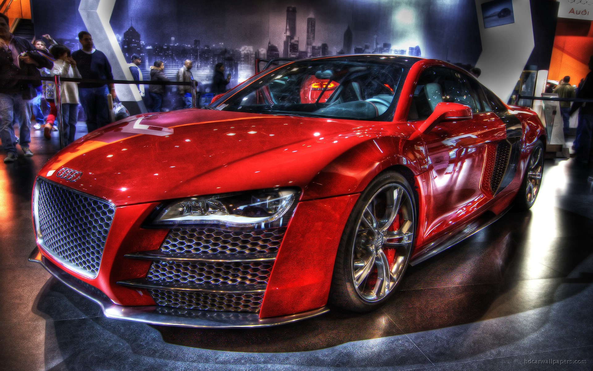 audi hdr r8 wallpapers hd cars 1920 1200