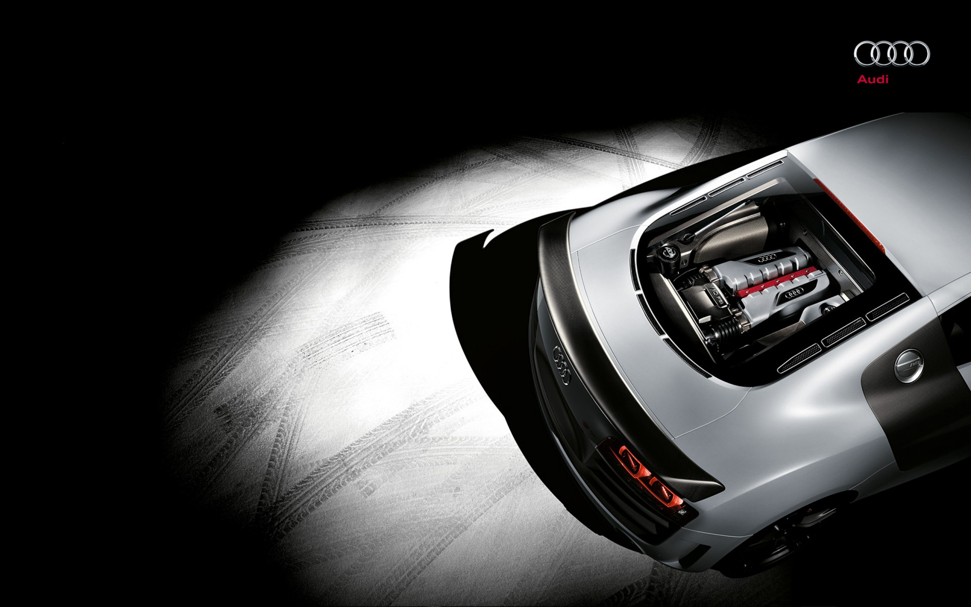 wallpapers engine car audi - photo #1