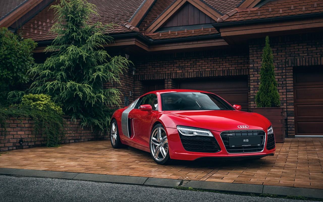 Audi R8 Red Wallpaper | HD Car Wallpapers | ID #5501