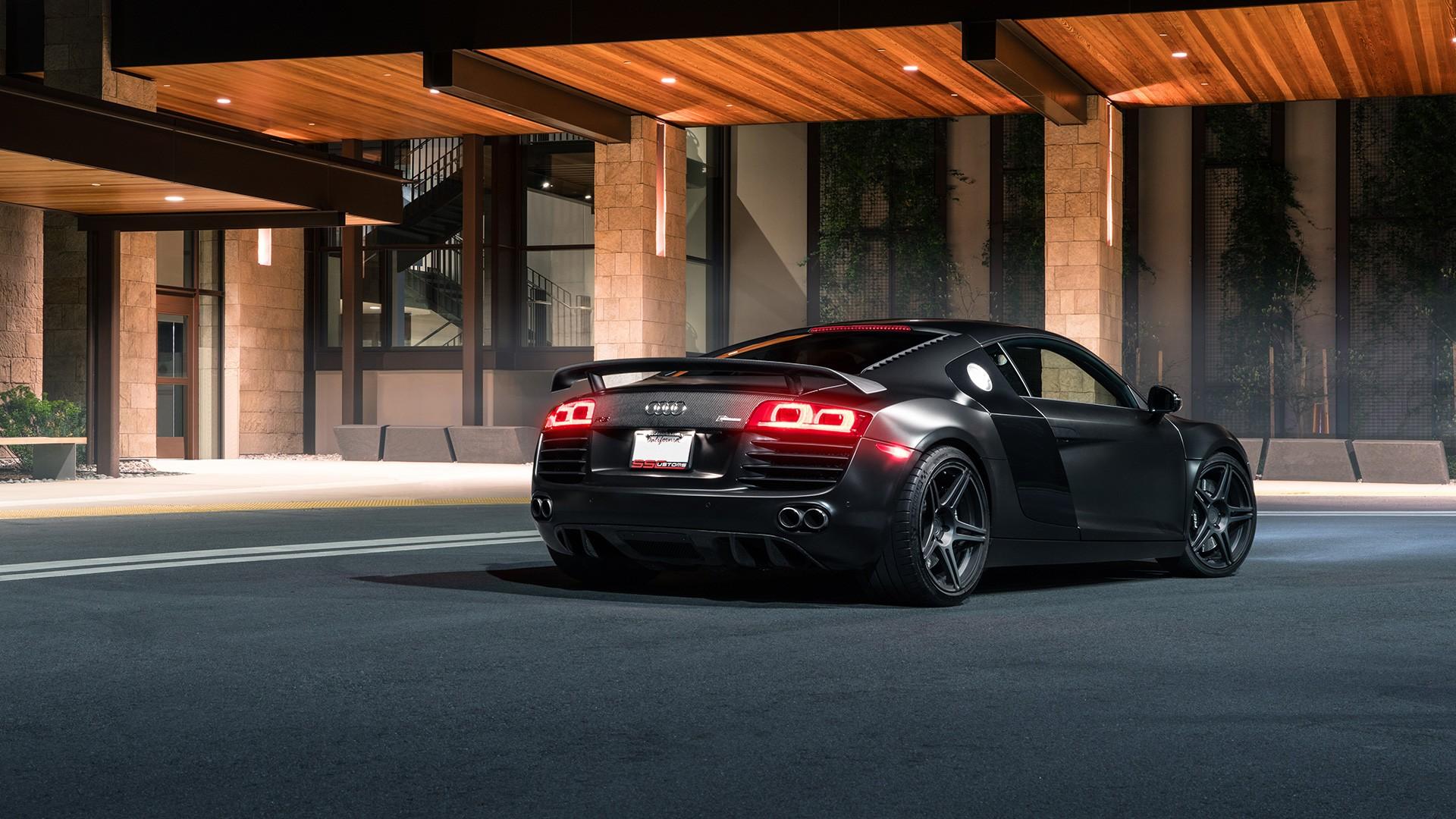 Matte Black Bmw >> Audi R8 SS Customs Wallpaper | HD Car Wallpapers | ID #6518
