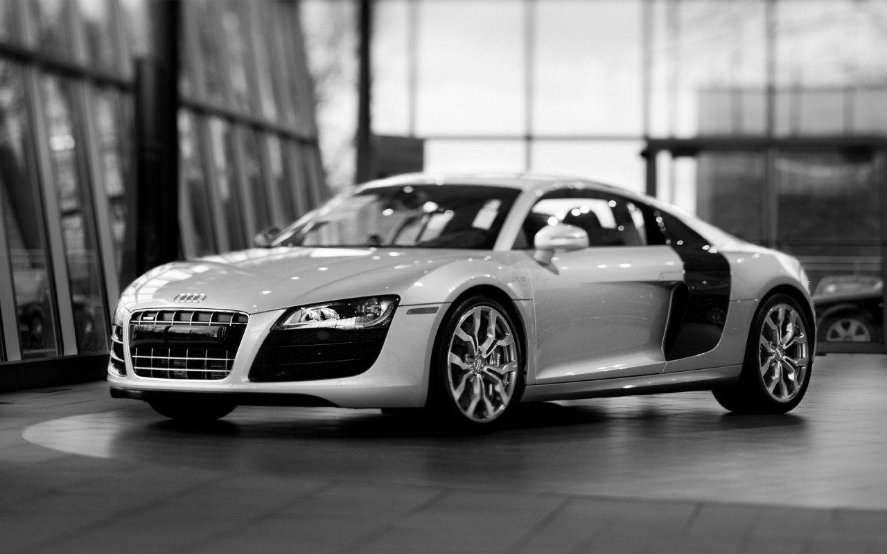 1280x800 Audi R8 desktop PC and Mac wallpaper
