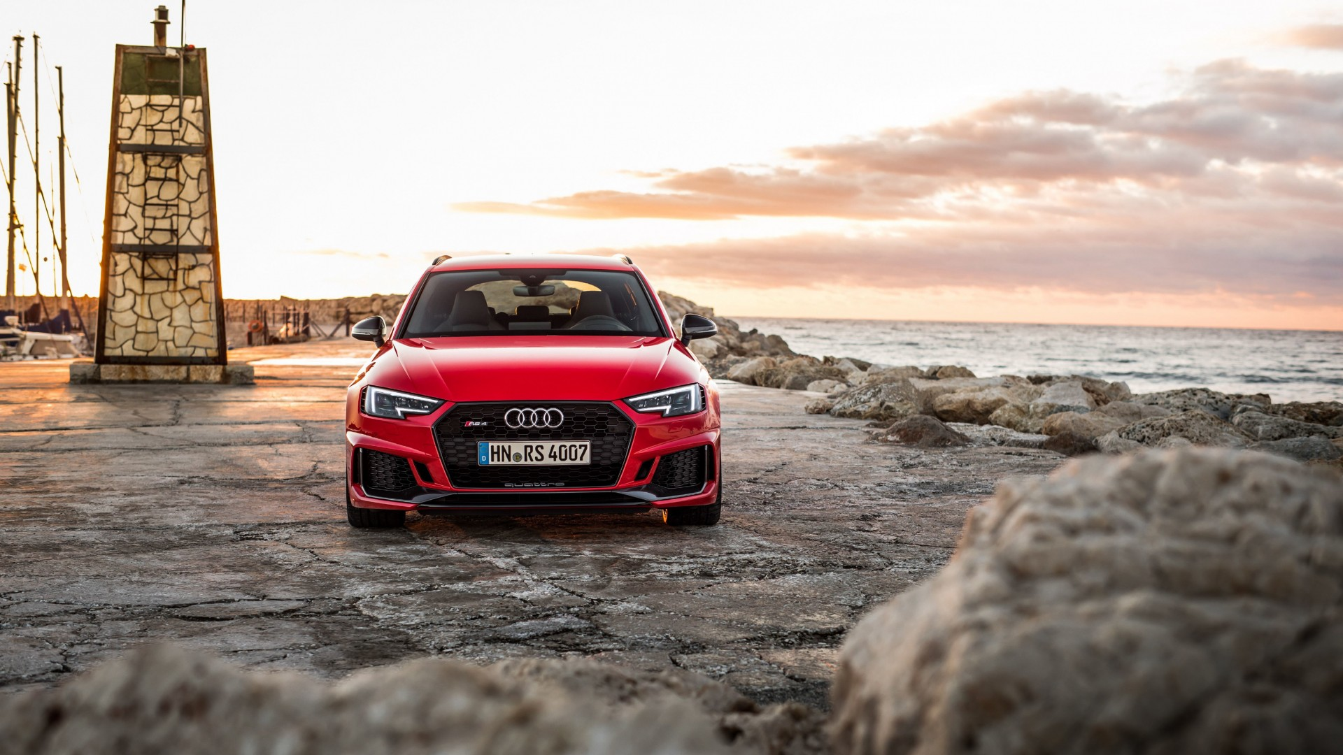 Audi RS4 Avant 4K 2018 Wallpaper | HD Car Wallpapers | ID #9248