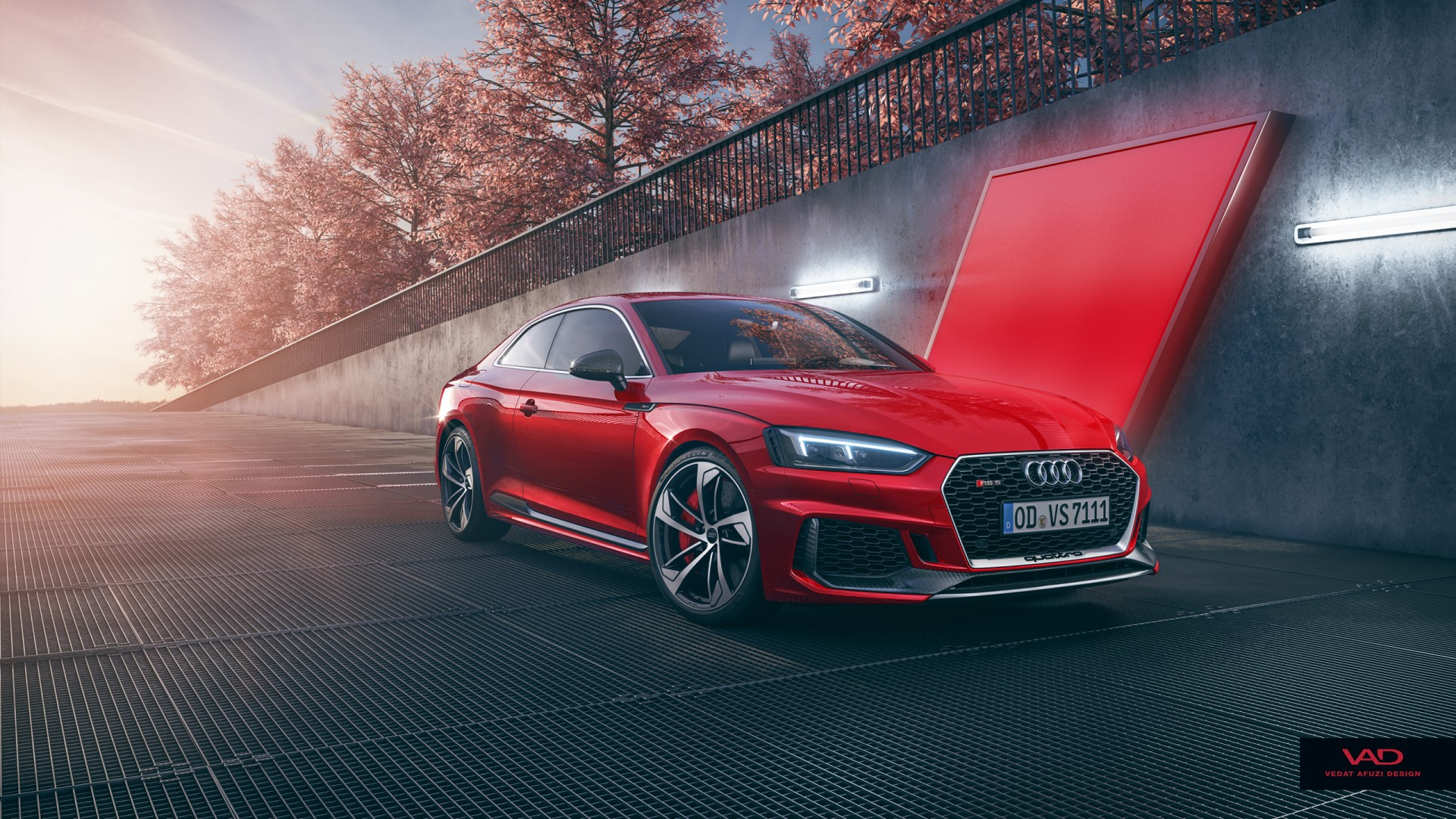 audi rs5 coupe cgi wallpaper hd car wallpapers id 8400. Black Bedroom Furniture Sets. Home Design Ideas
