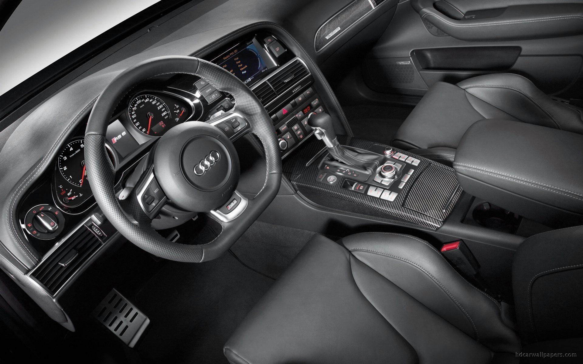 Audi Rs 6 2009 Interior 2 Wallpaper Hd Car Wallpapers