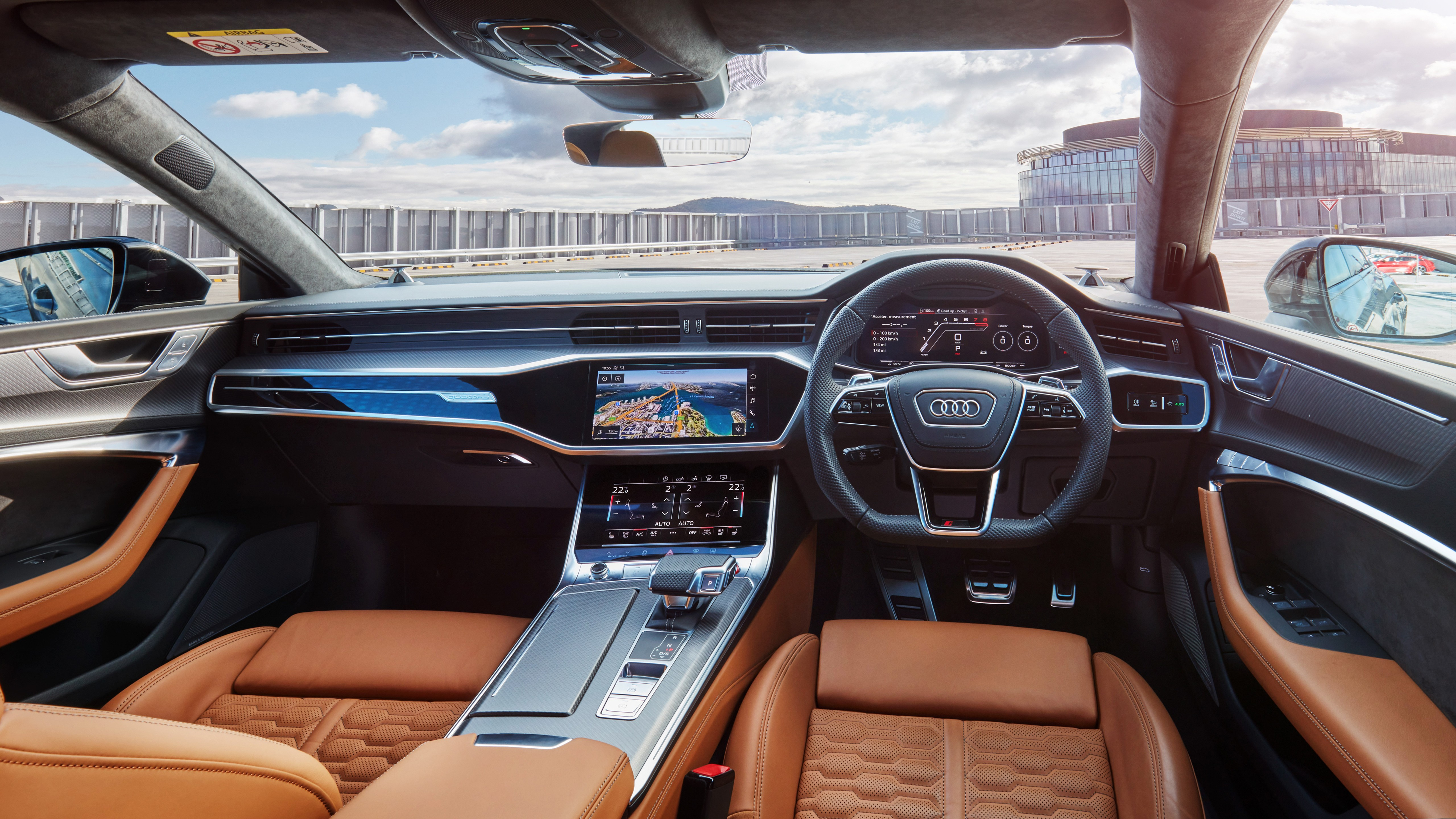 Audi Rs 7 Sportback 2020 5k Interior Wallpaper Hd Car Wallpapers Id 15113