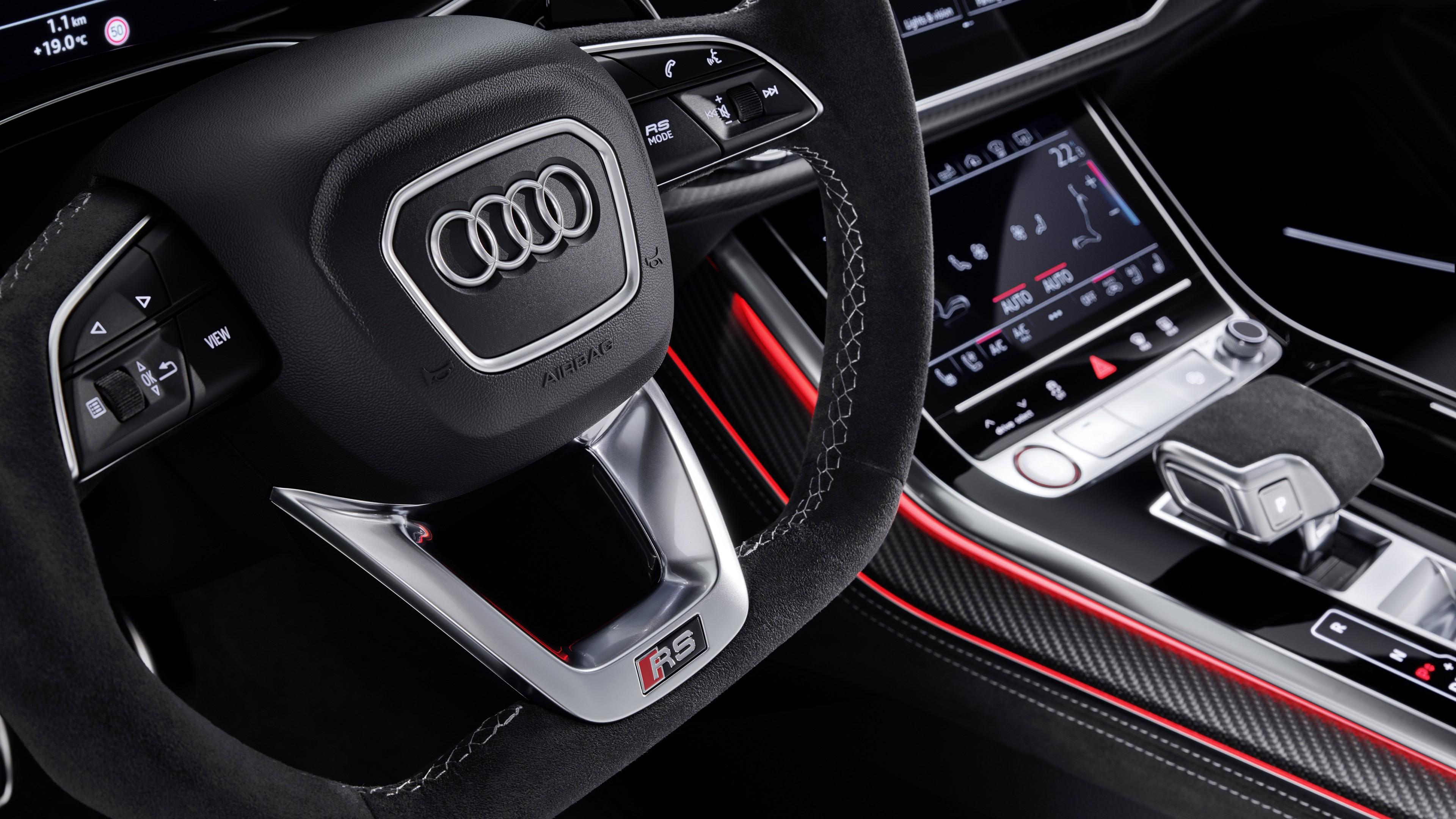 Audi Rs Q8 2020 4k Interior Wallpaper Hd Car Wallpapers Id 13704 Audi rs q8 2020 4k interior wallpaper
