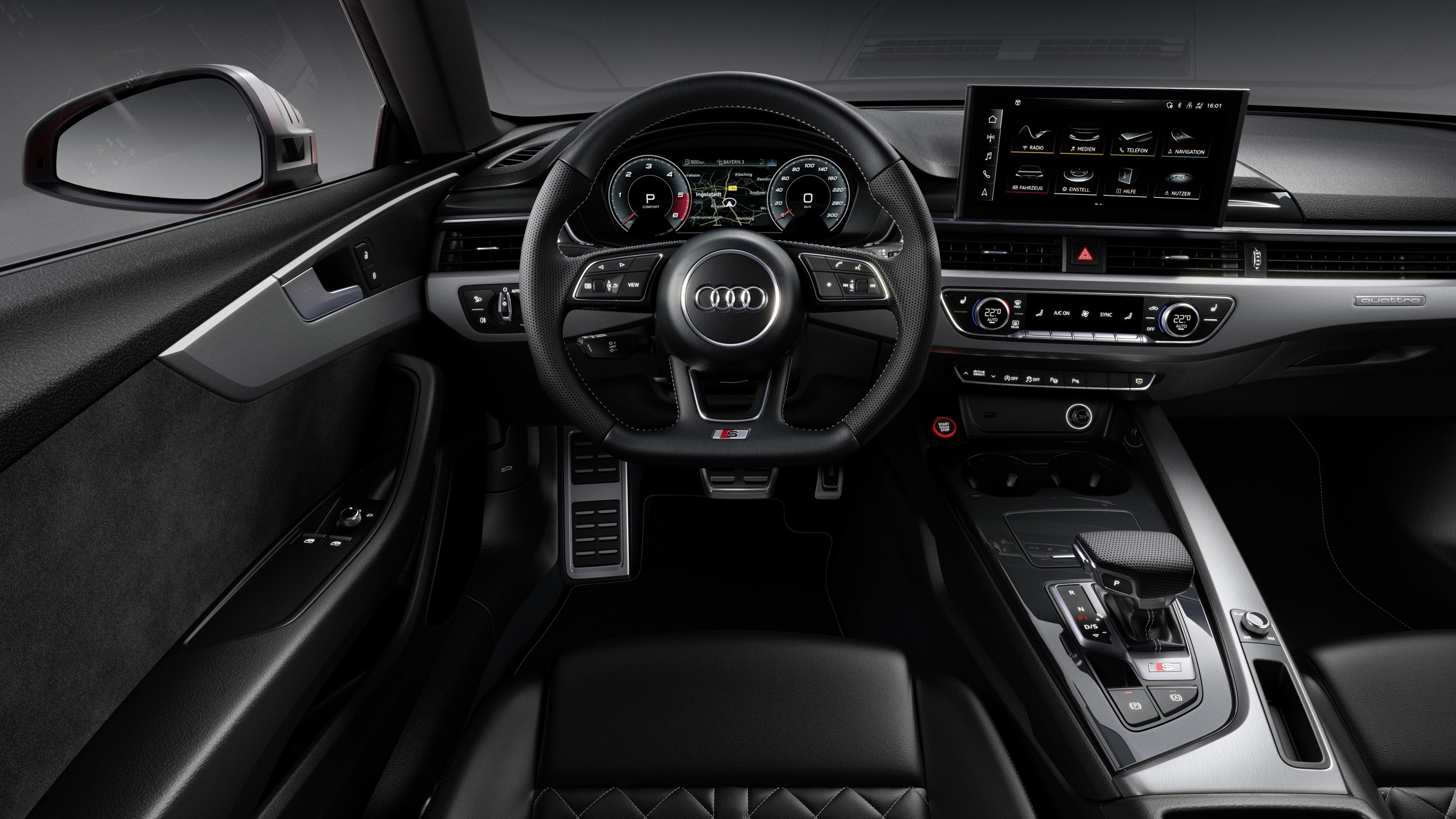 Audi S5 Coupe Tdi Interior Wallpaper Hd Car Wallpapers Id 13230
