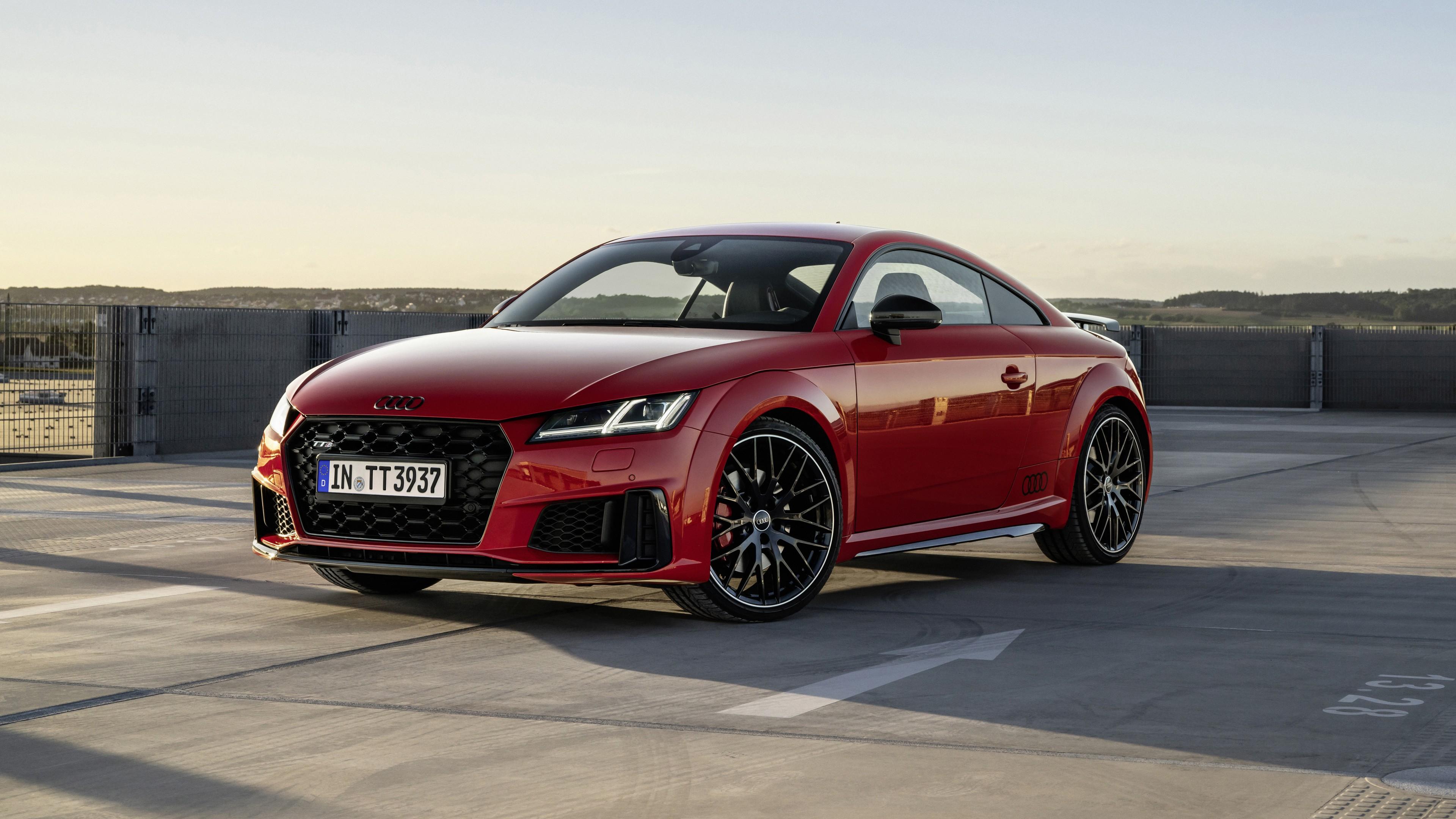 audi tts competition plus coupé 2021 5k wallpaper   hd car