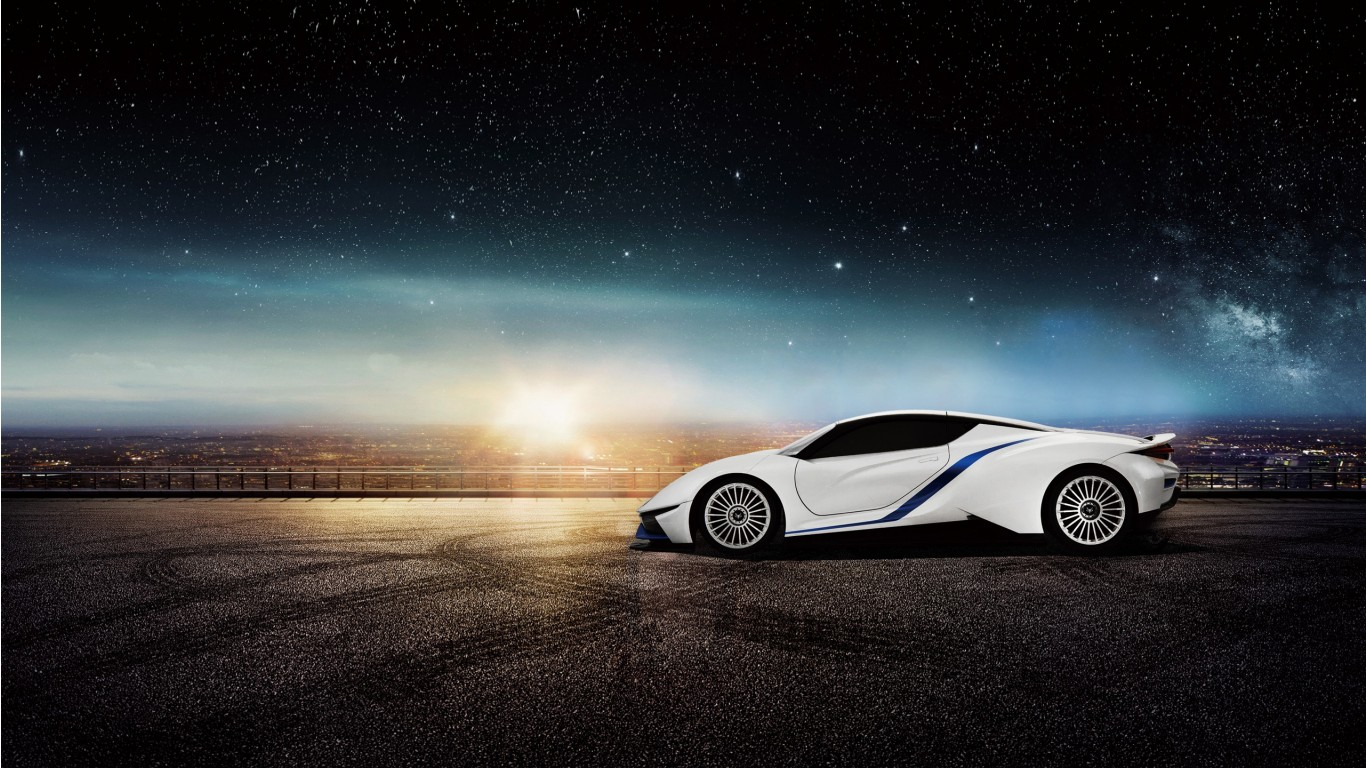 BAIC Arcfox 7 Electric Supercar Wallpaper