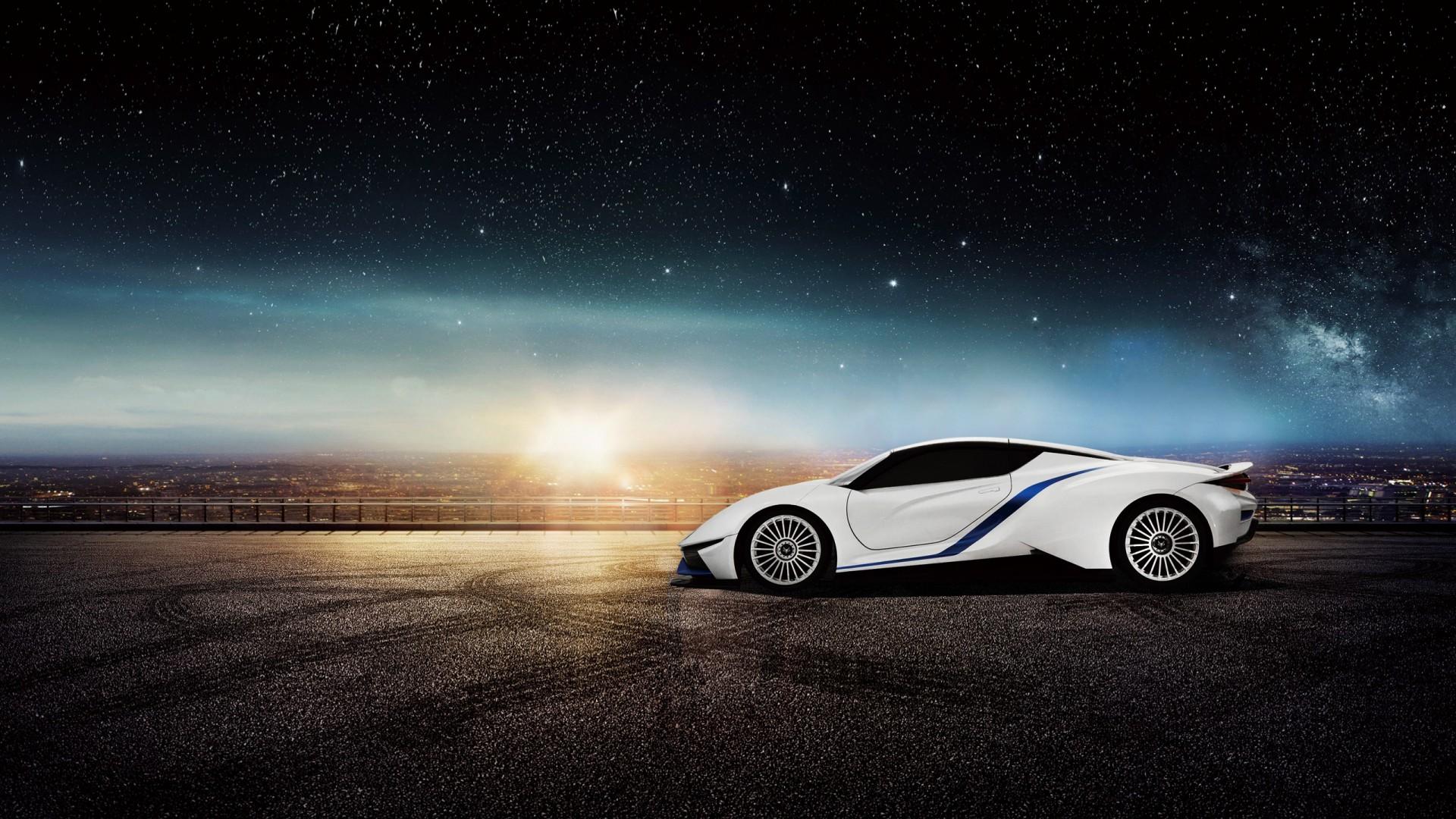 Baic Arcfox 7 Electric Supercar Wallpaper