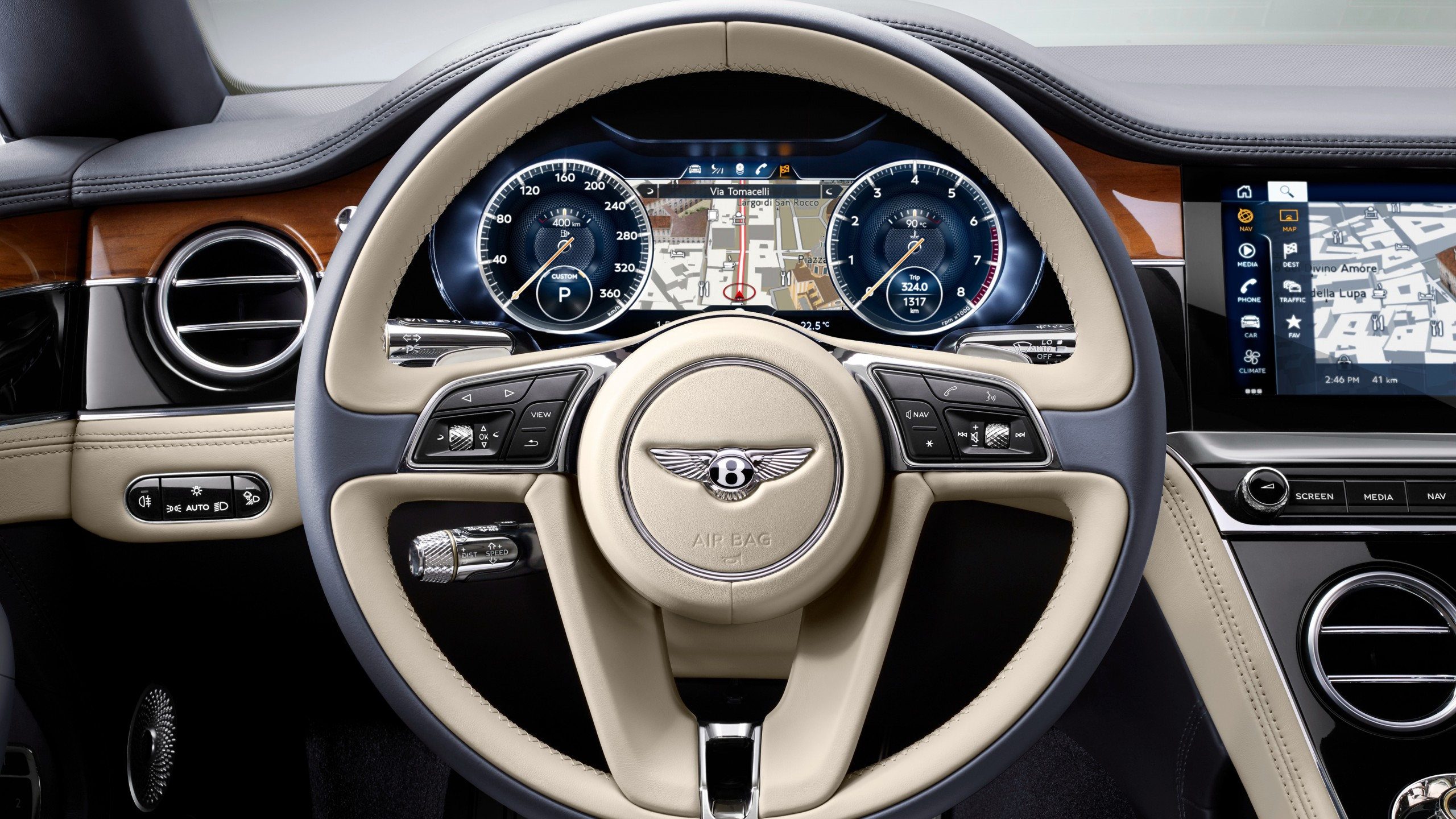 bentley continental gt 2017 interior wallpaper hd car wallpapers id 8434. Black Bedroom Furniture Sets. Home Design Ideas