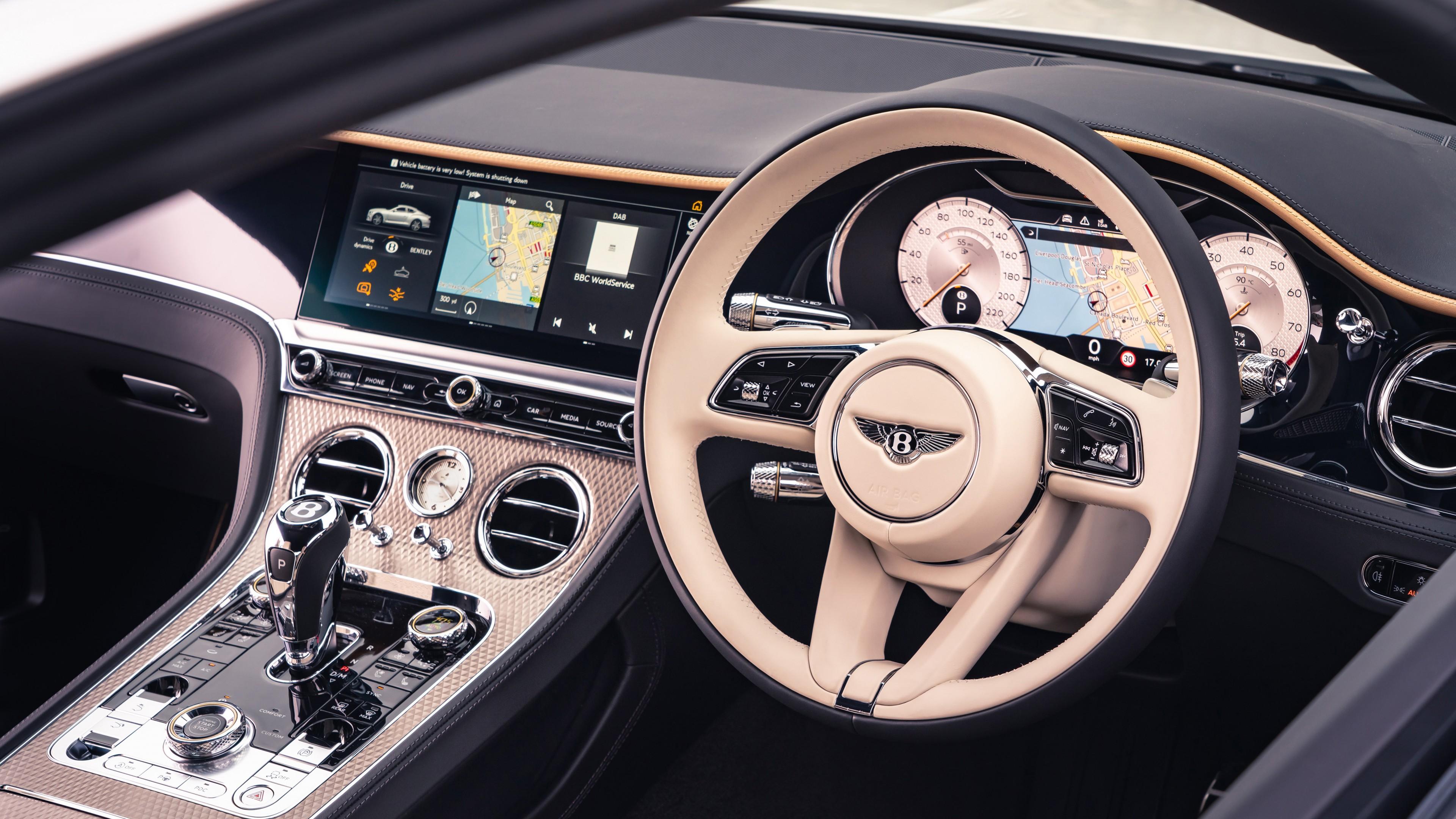 Bentley Continental Gt Mulliner 2020 5k Interior Wallpaper Hd Car Wallpapers Id 15781