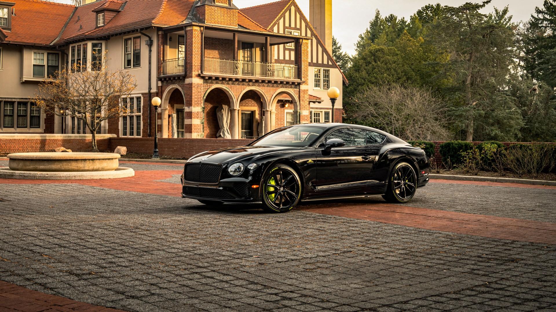 Bentley Continental GT Pikes Peak 2021 4K Wallpaper