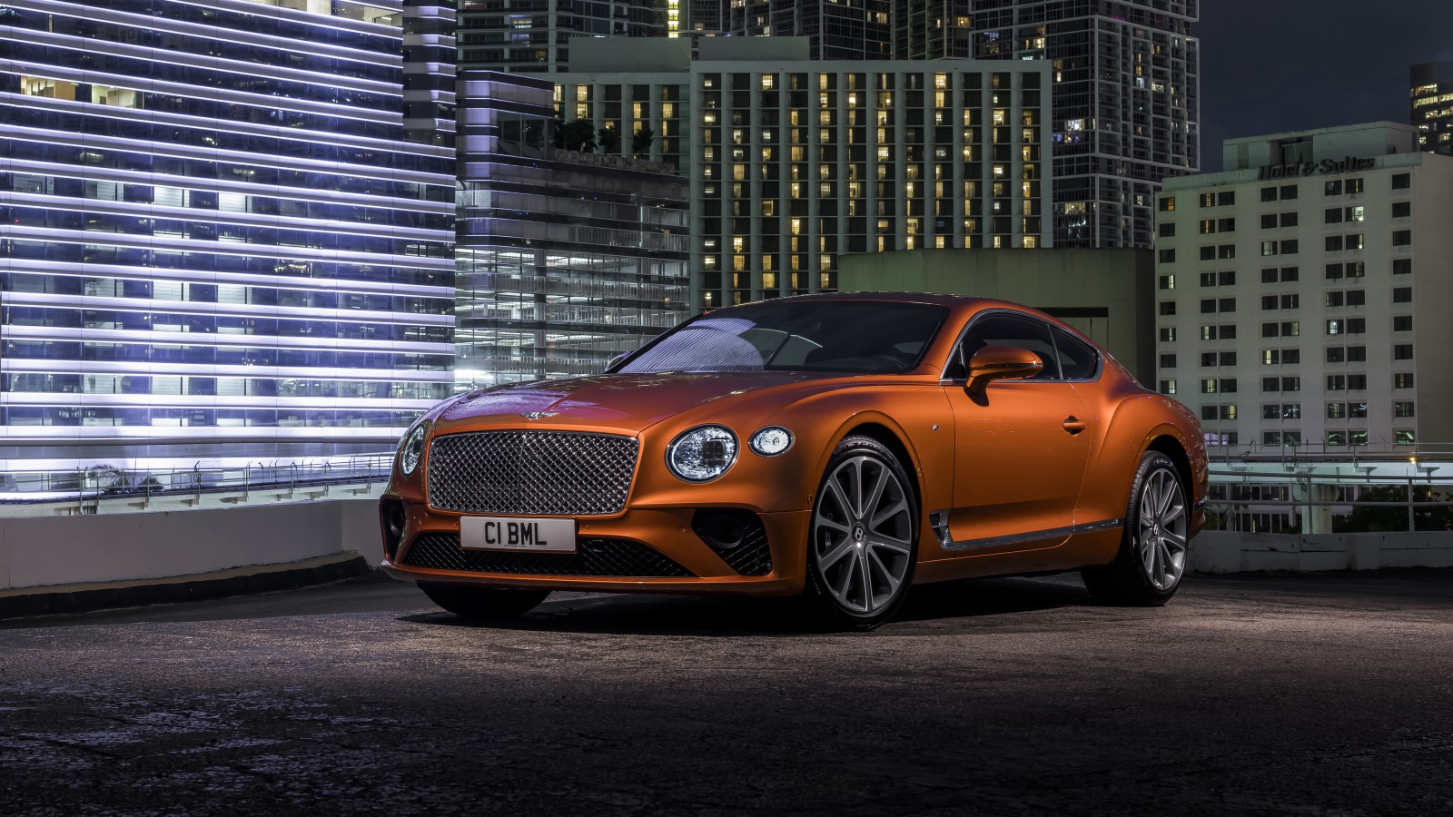 Bentley Continental GT V8 2019 4K Wallpaper