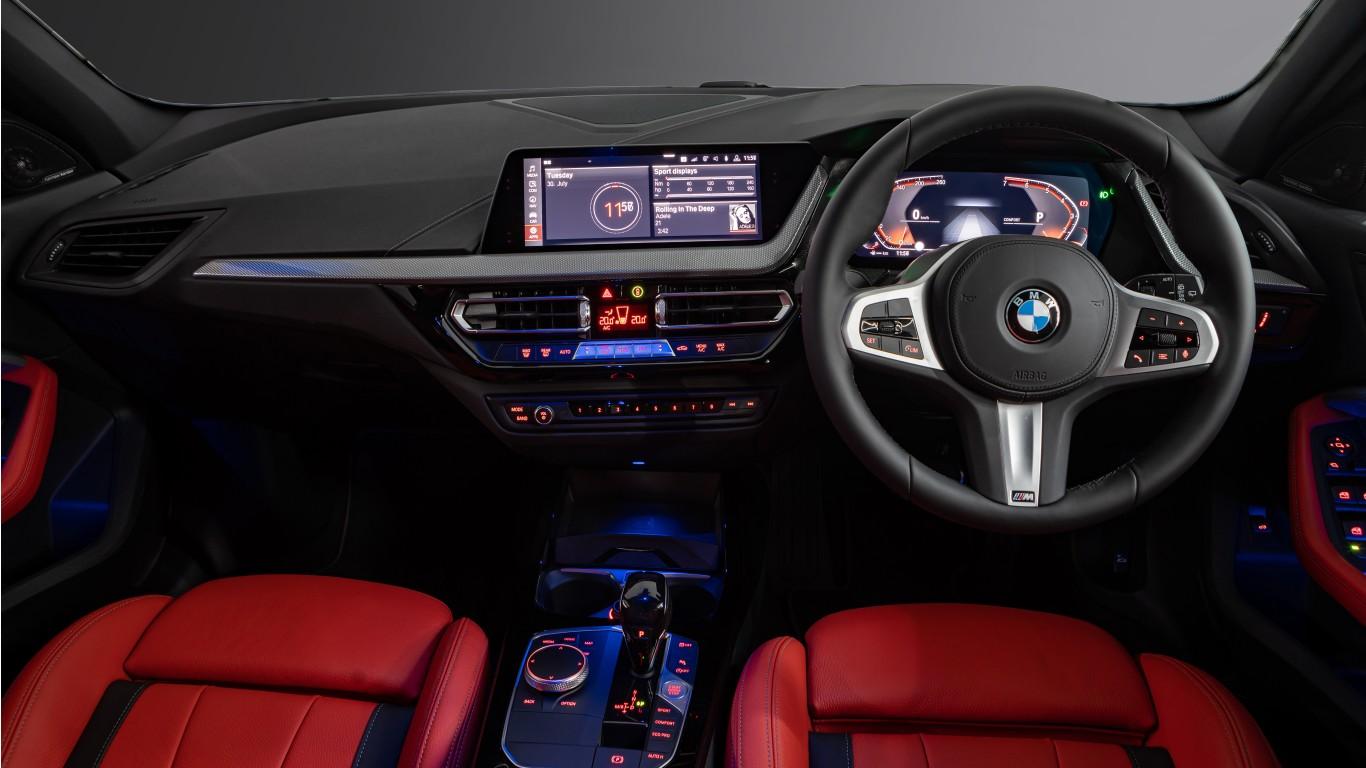 Apple Sport Chevrolet >> BMW 118i M Sport 2019 5K Interior Wallpaper | HD Car ...