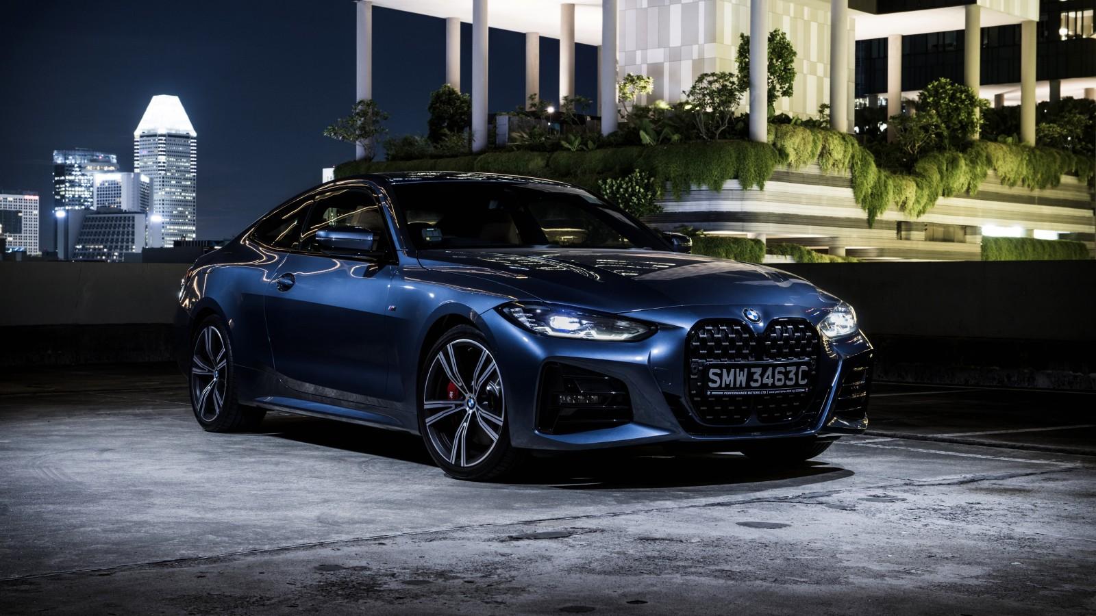 BMW 430i Coup M Sport 2021 5K Wallpaper