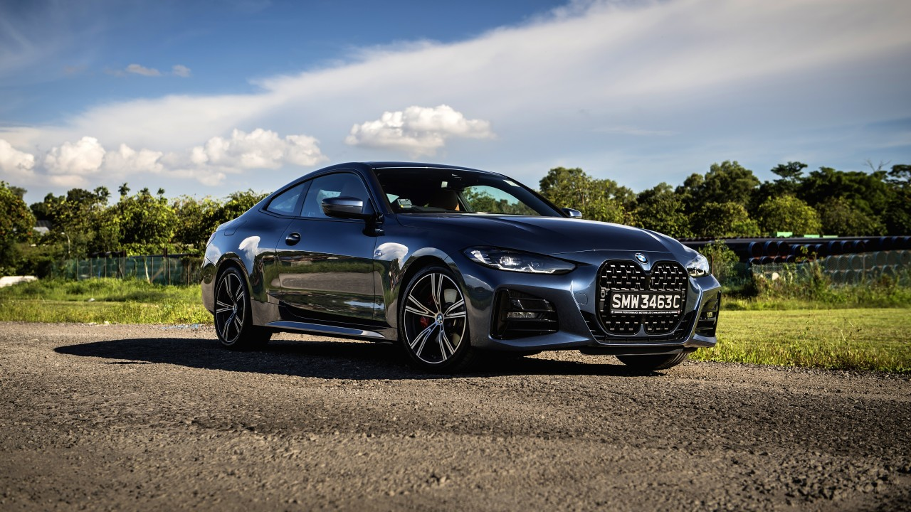 bmw 430i coupé m sport 2021 5k 3 wallpaper | hd car