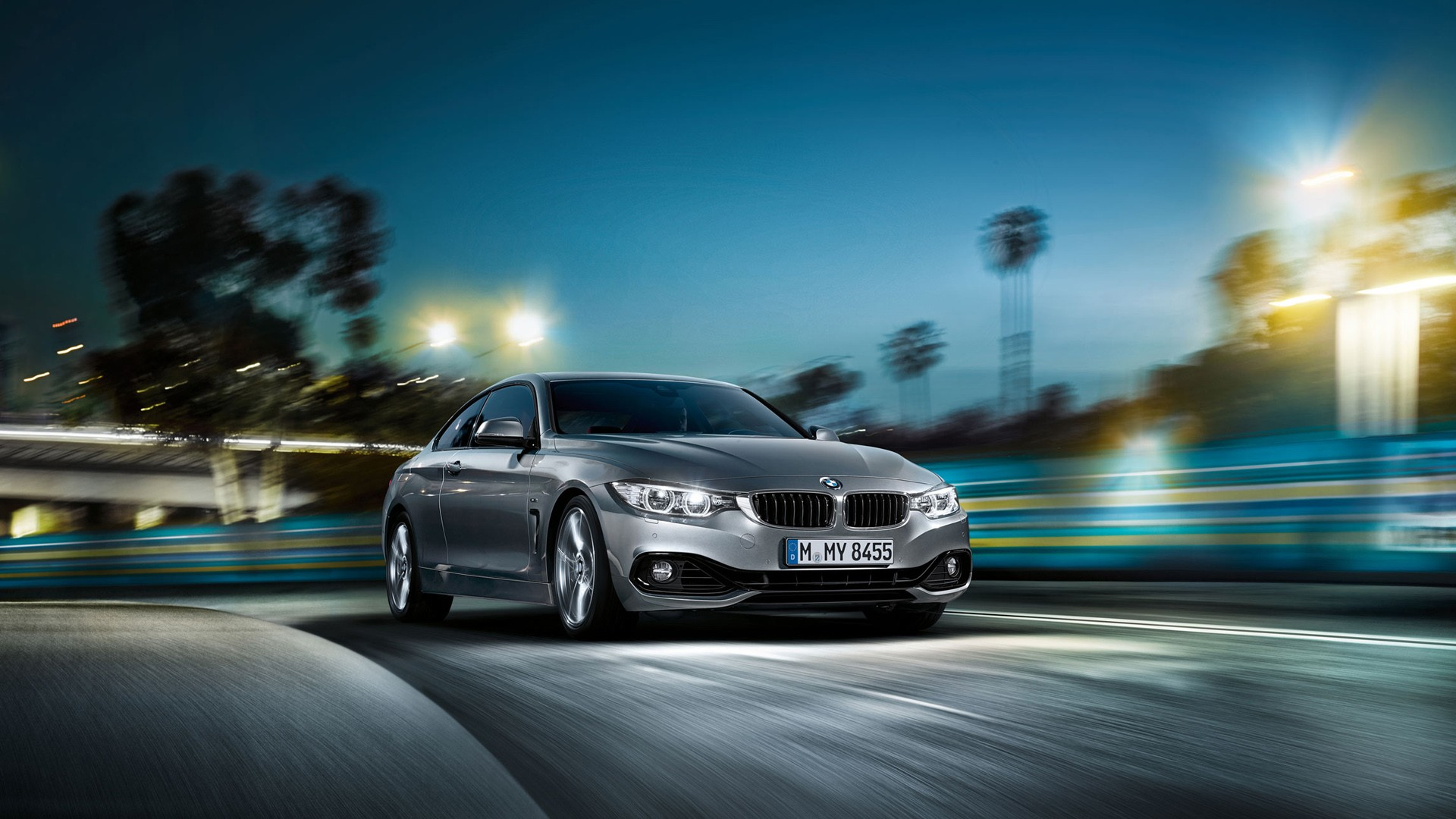 Bmw 4 Series Coupe 2014 Wallpaper Hd Car Wallpapers Id